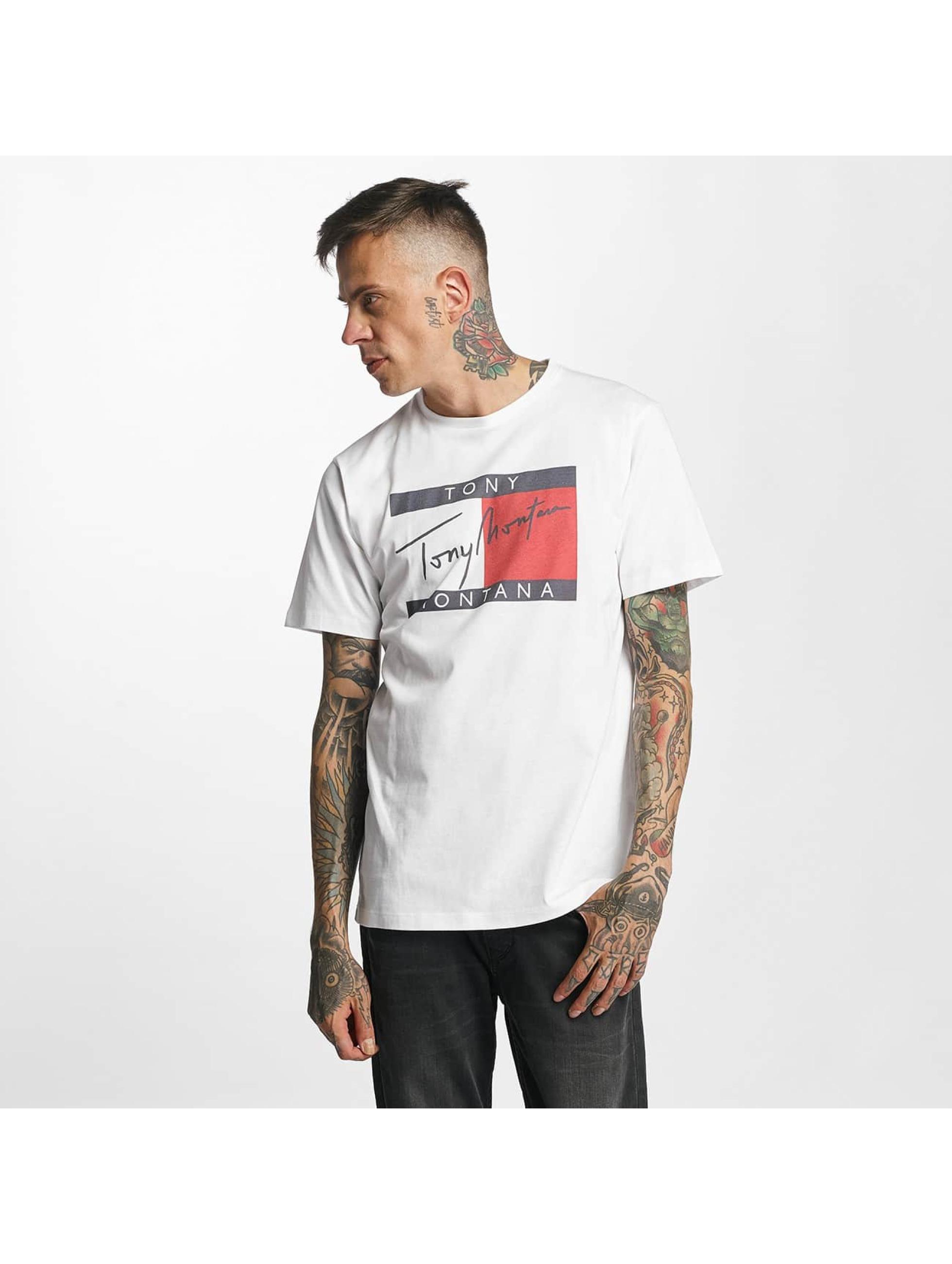 Tealer T-Shirty Tony Montana bialy