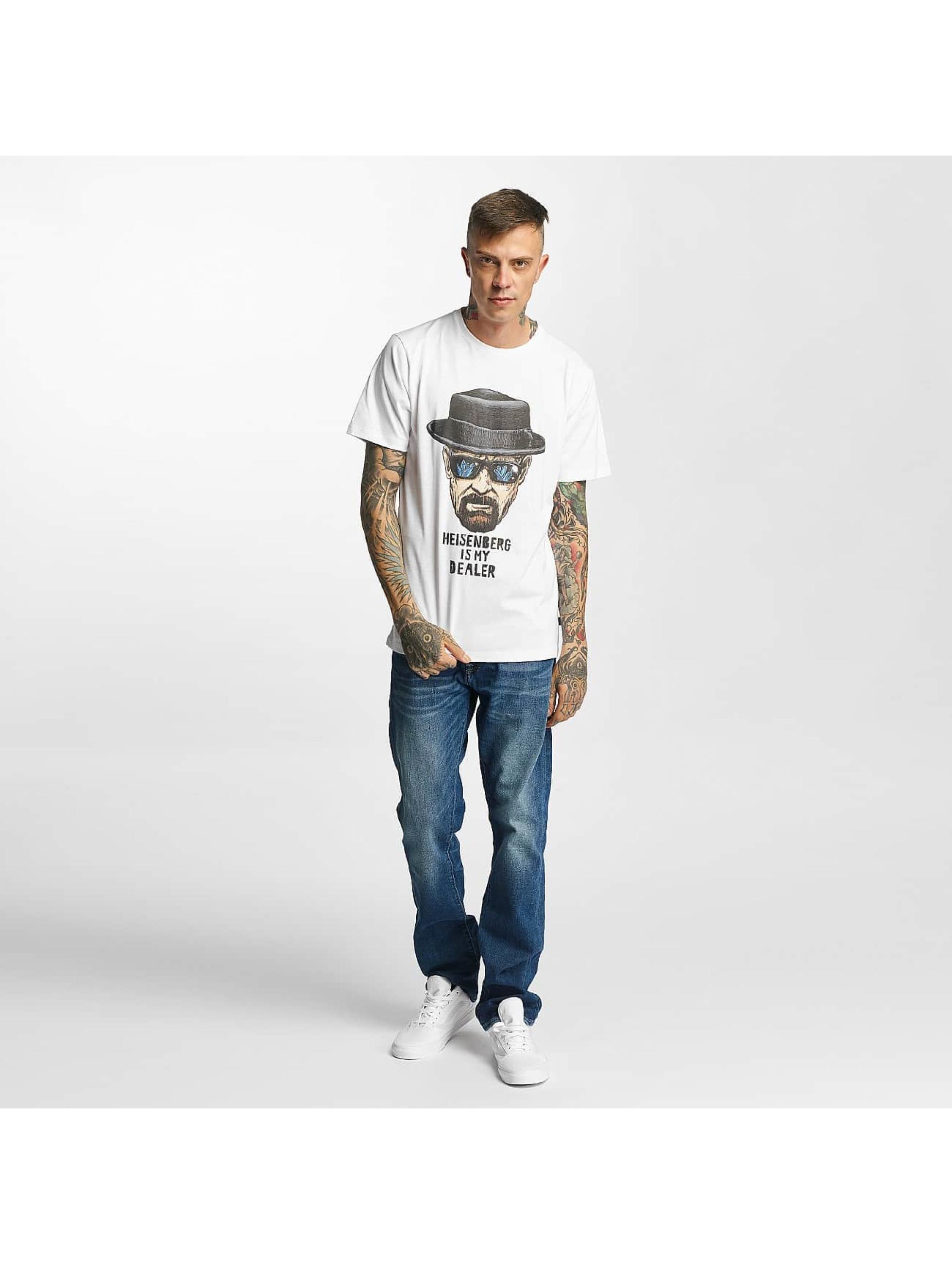 Tealer T-skjorter My Dealer hvit