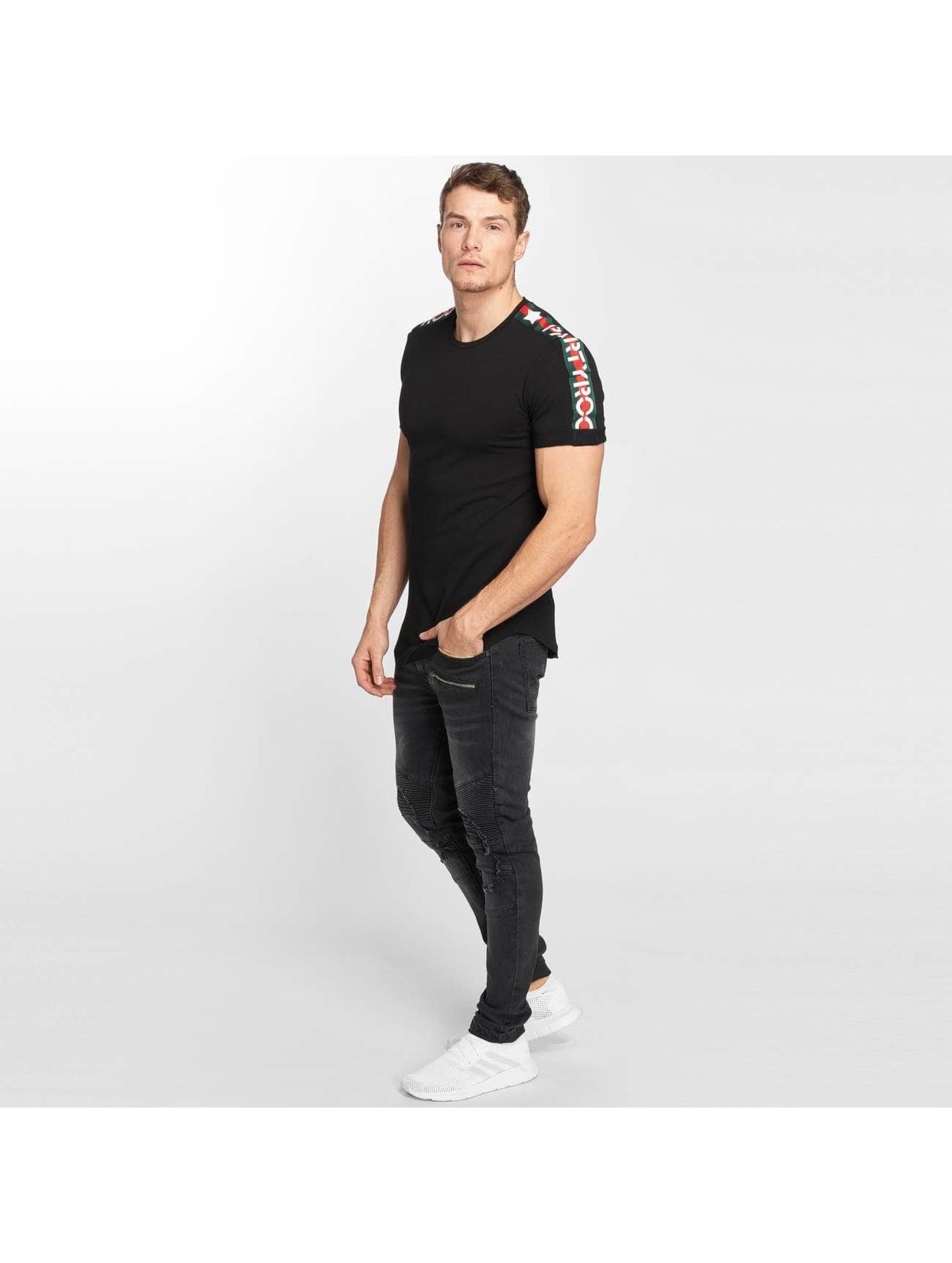 Terance Kole Herren T-Shirt Stripe in schwarz 487711 432f1a0e53