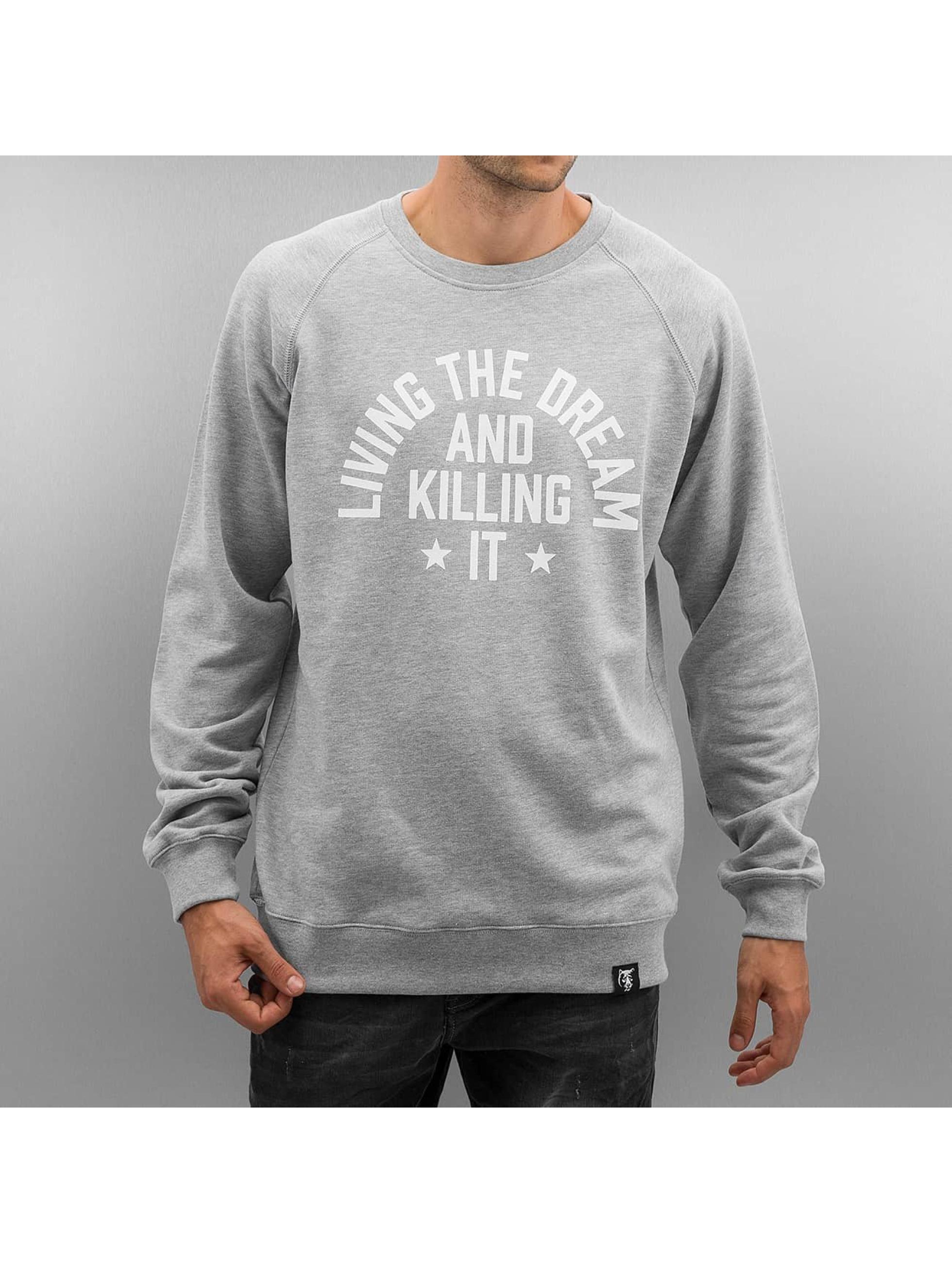The Dudes Пуловер Dream Killer серый