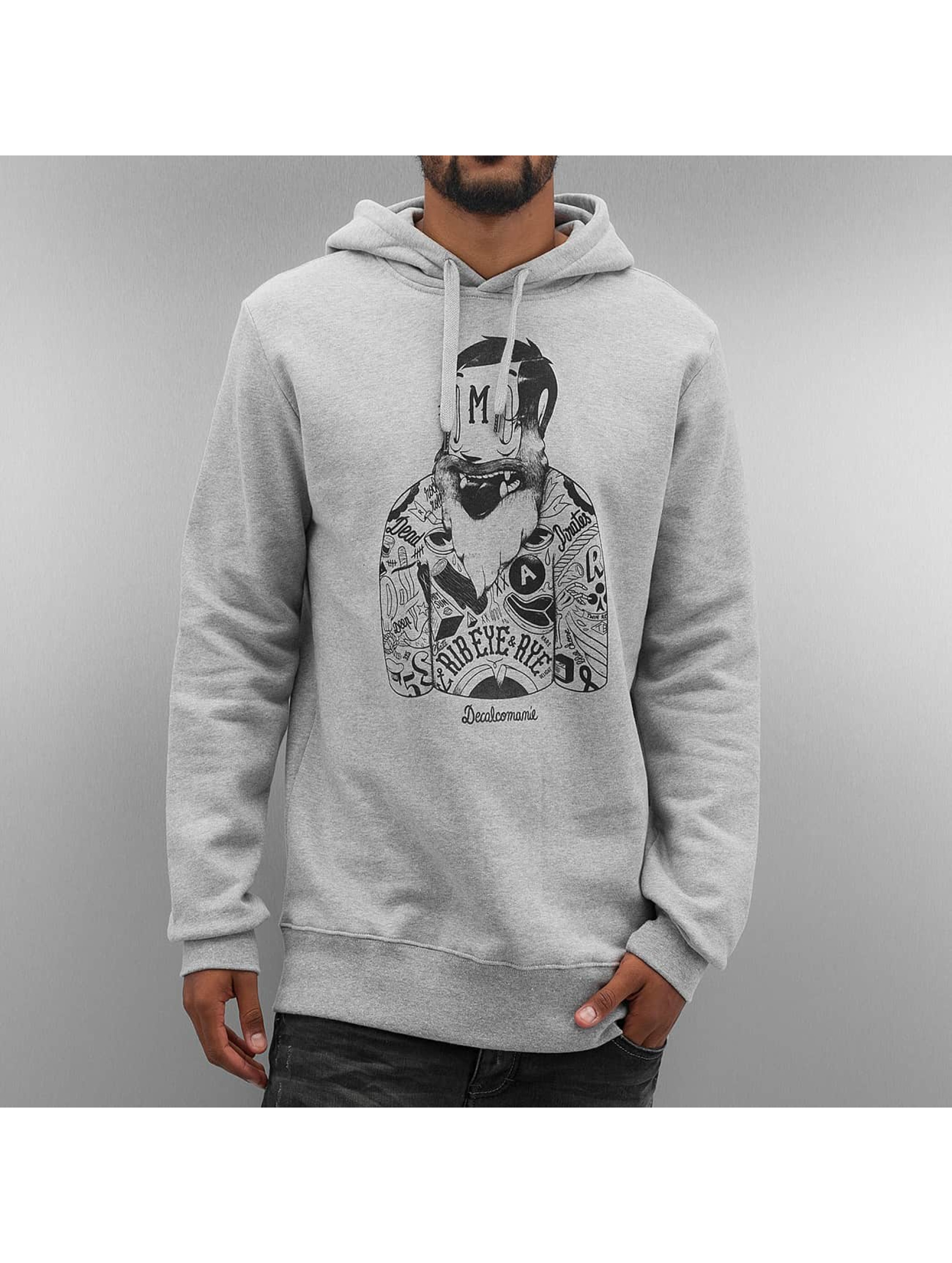 The Dudes Hoodie Russian Boxer grey