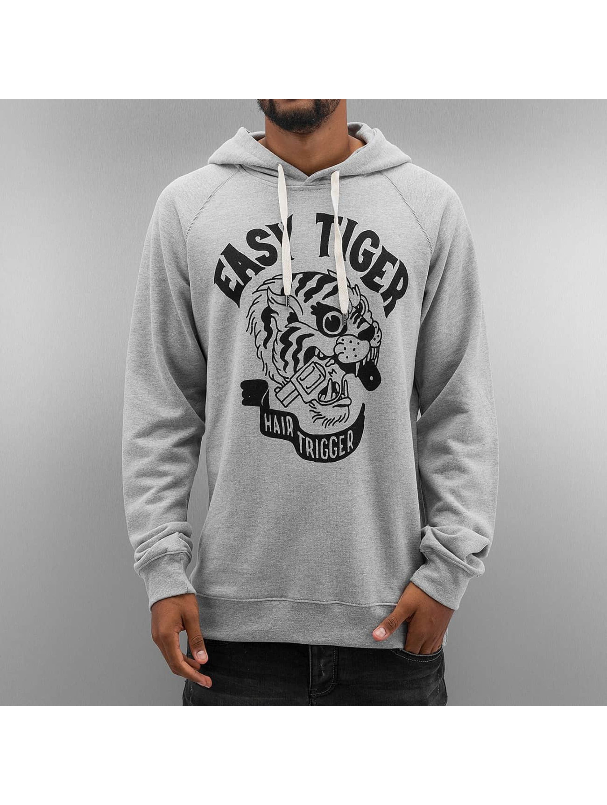 The Dudes Hoody Easy Tiger grijs