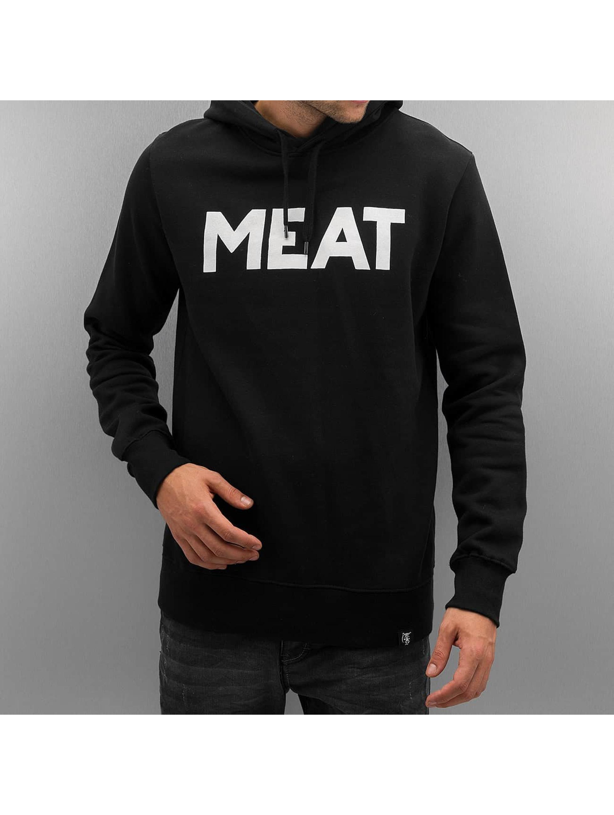 The Dudes Hoody Meat schwarz