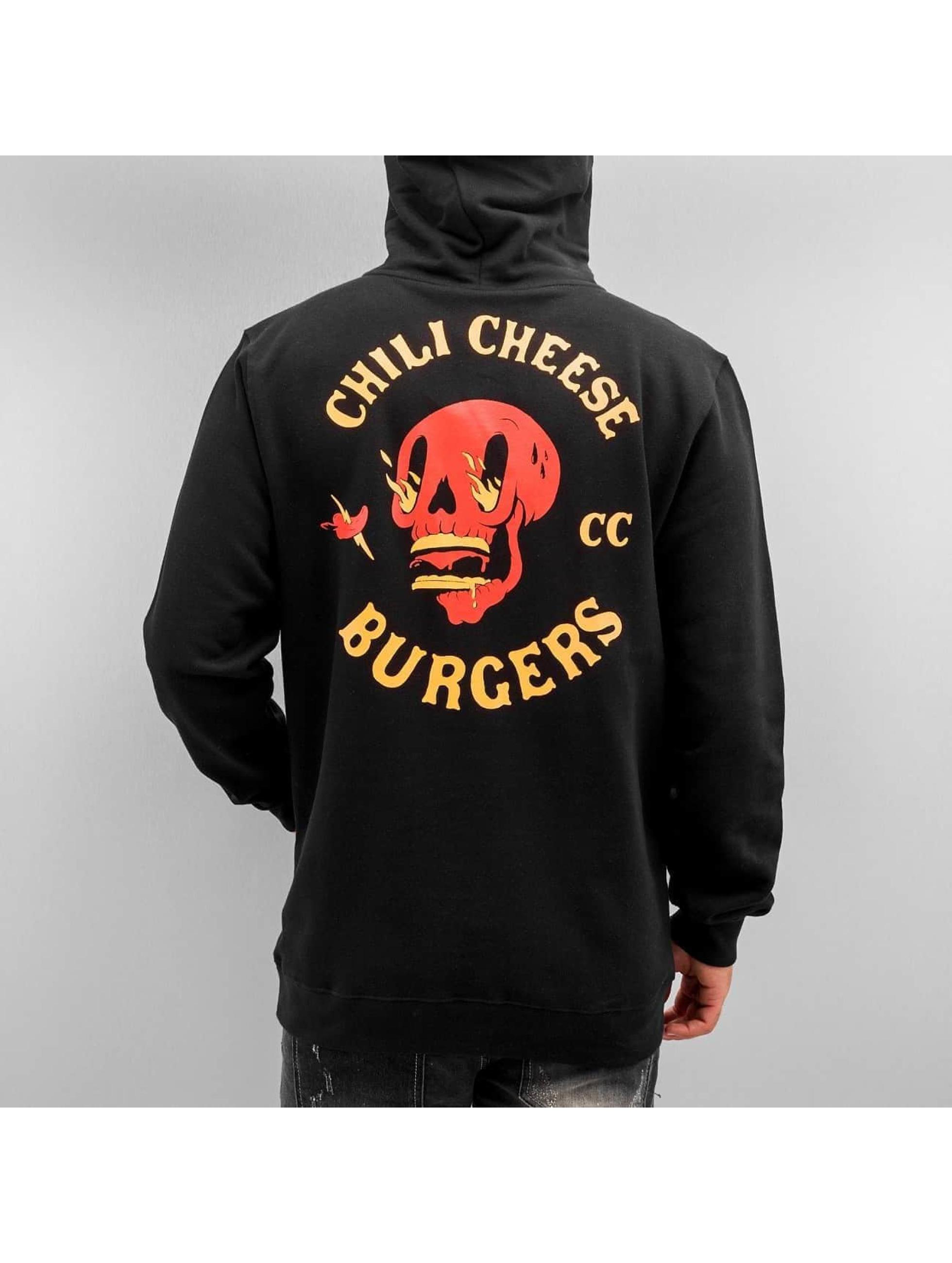 The Dudes Hoody Chilli Cheese zwart