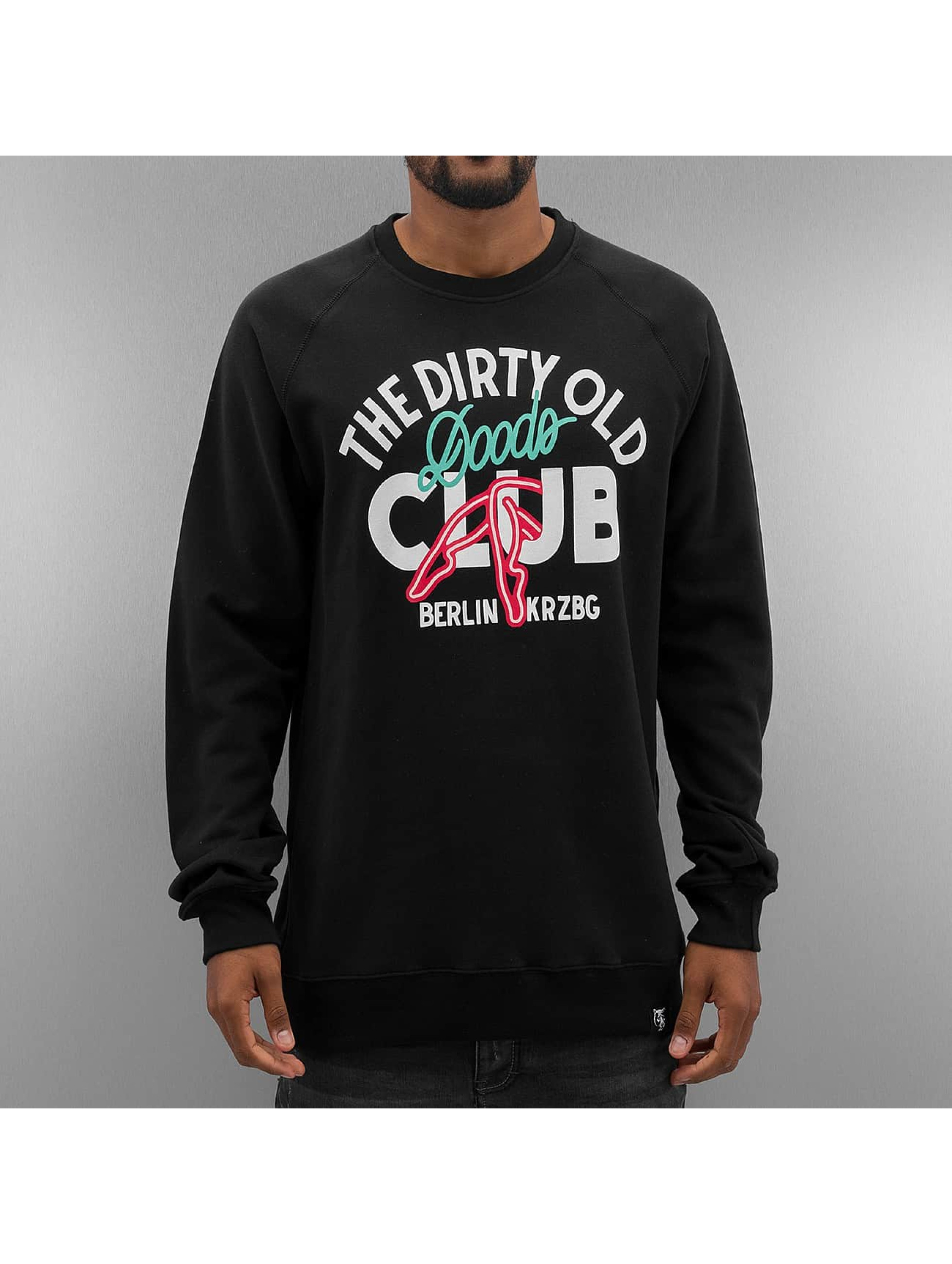 The Dudes Pullover Dirty Doods black
