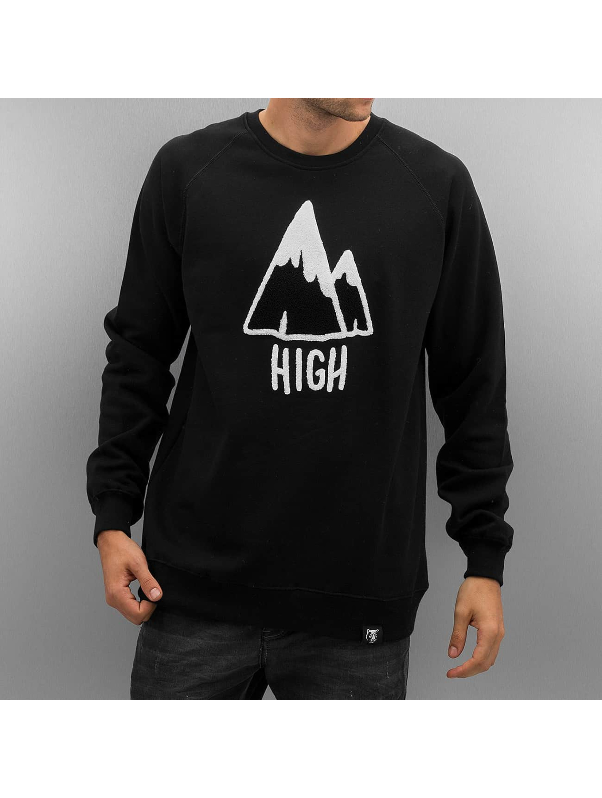 The Dudes Pullover High black