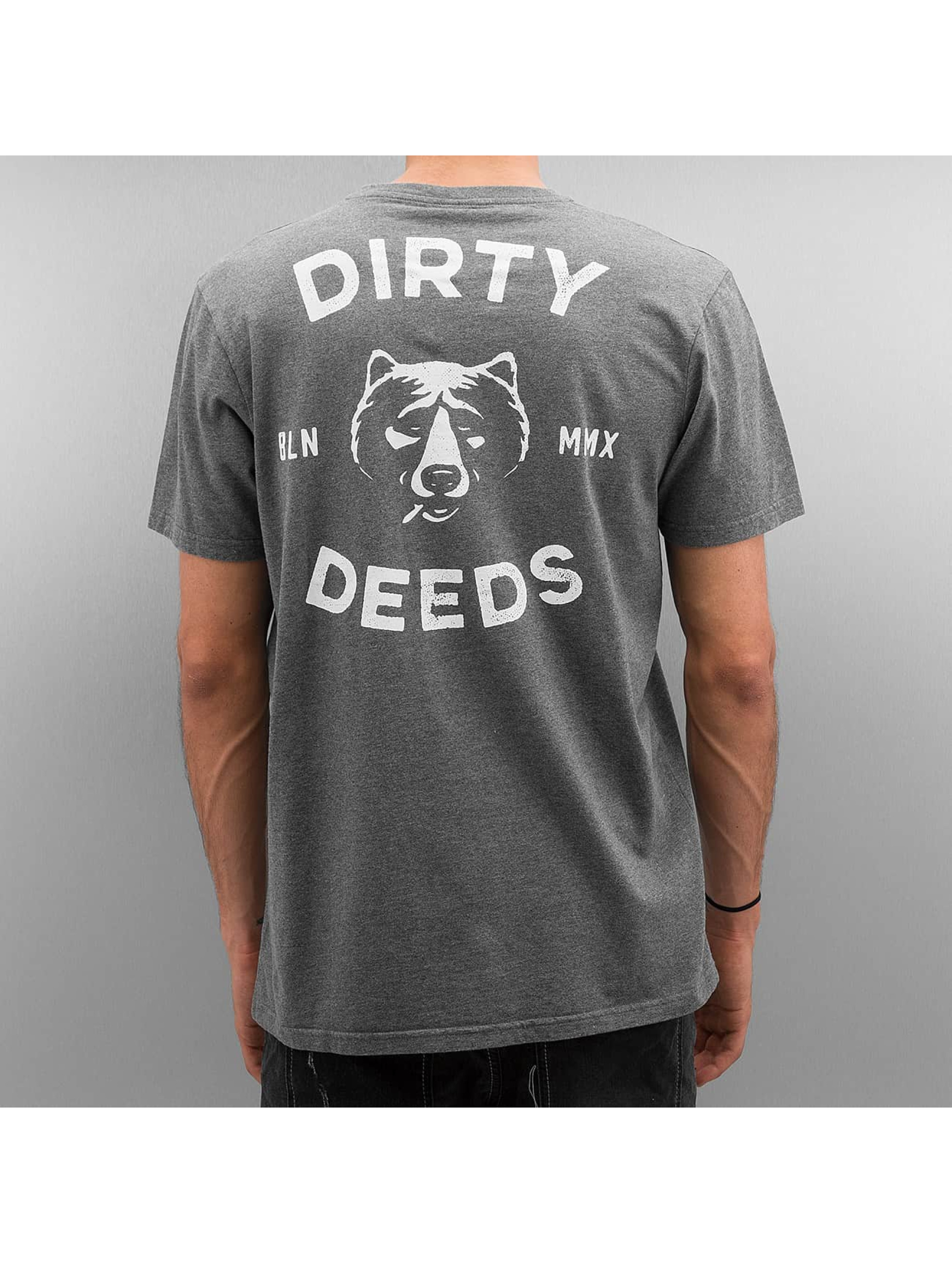 The Dudes T-paidat Dirty Deeds harmaa