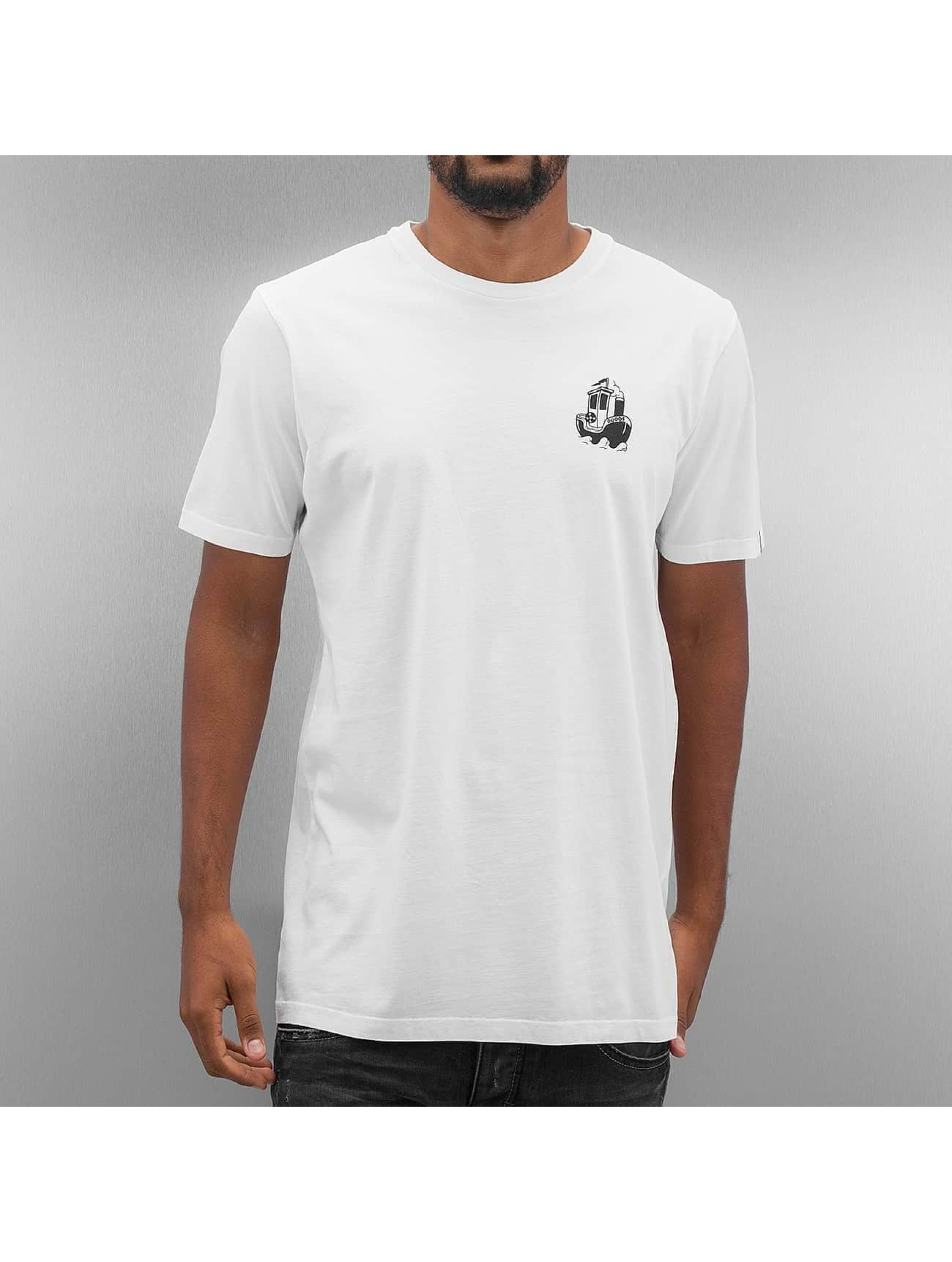 The Dudes T-paidat Anchor valkoinen
