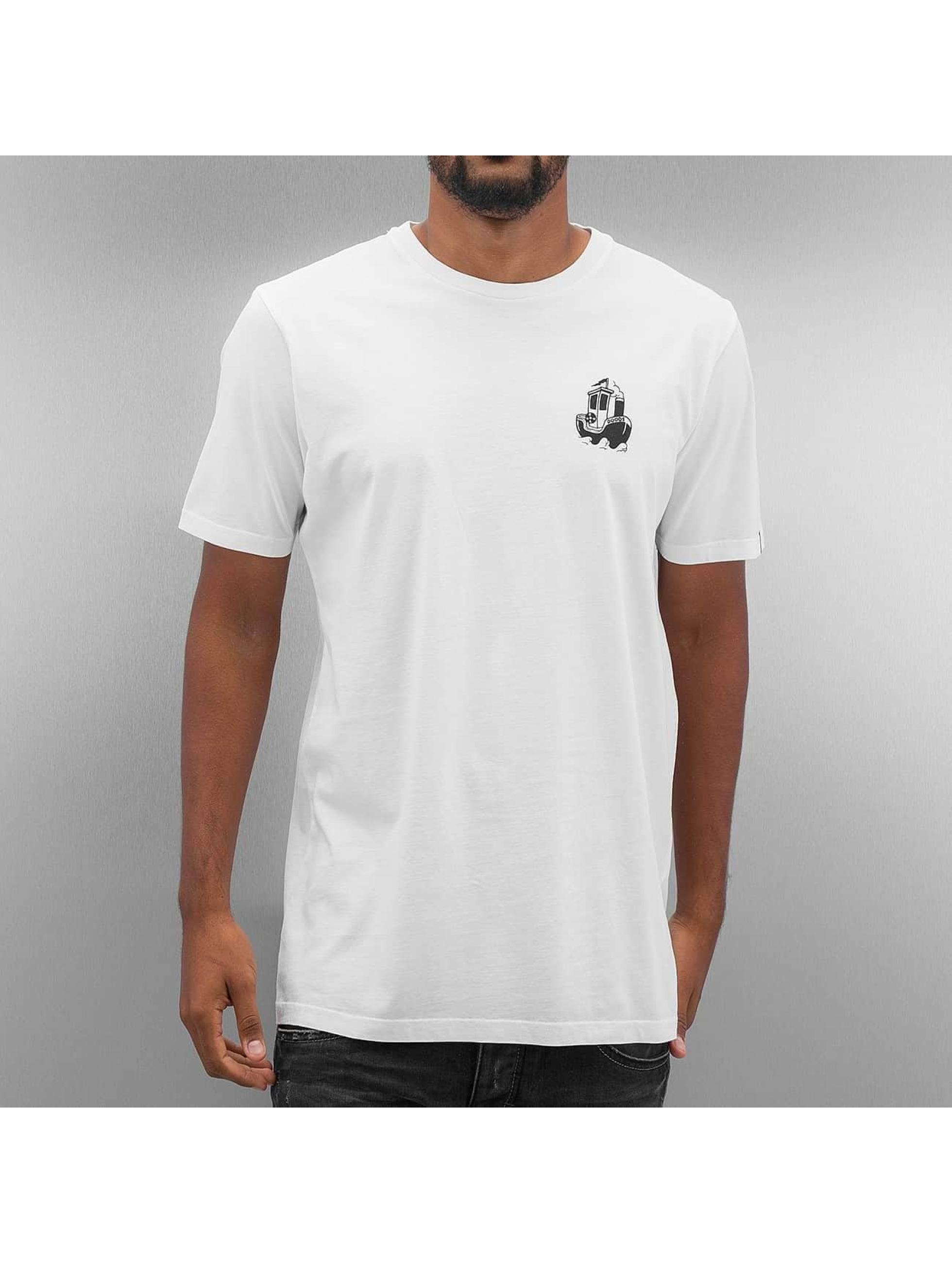 The Dudes T-Shirt Anchor blanc