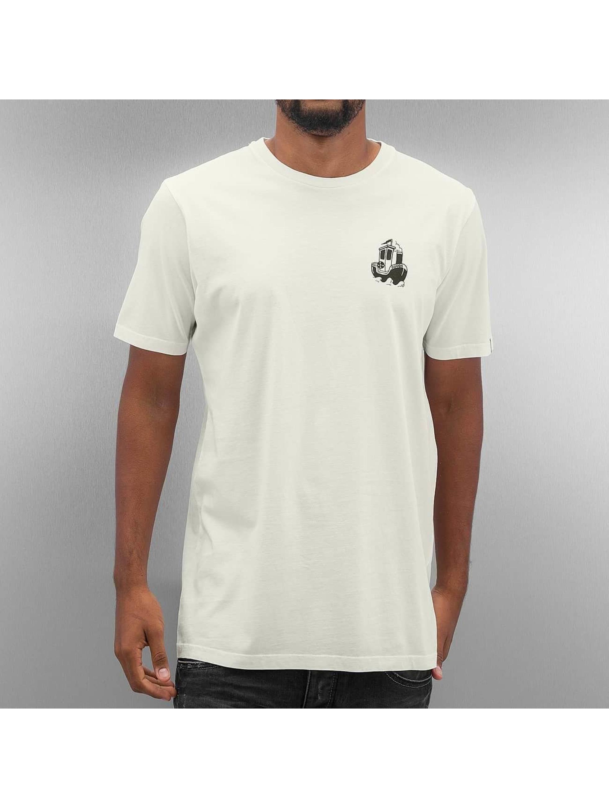 The Dudes T-Shirt Anchor weiß