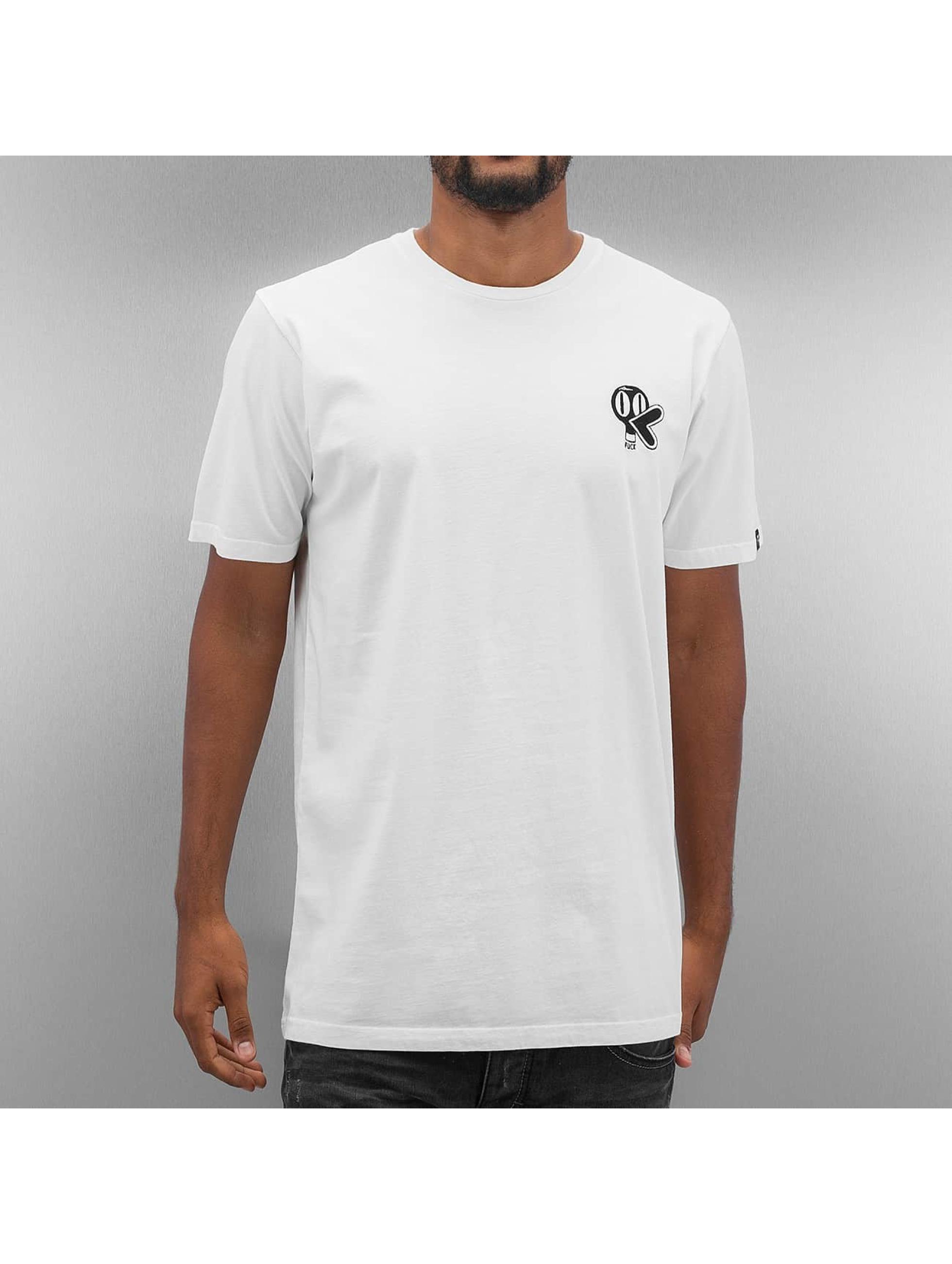 The Dudes T-Shirt Duck weiß