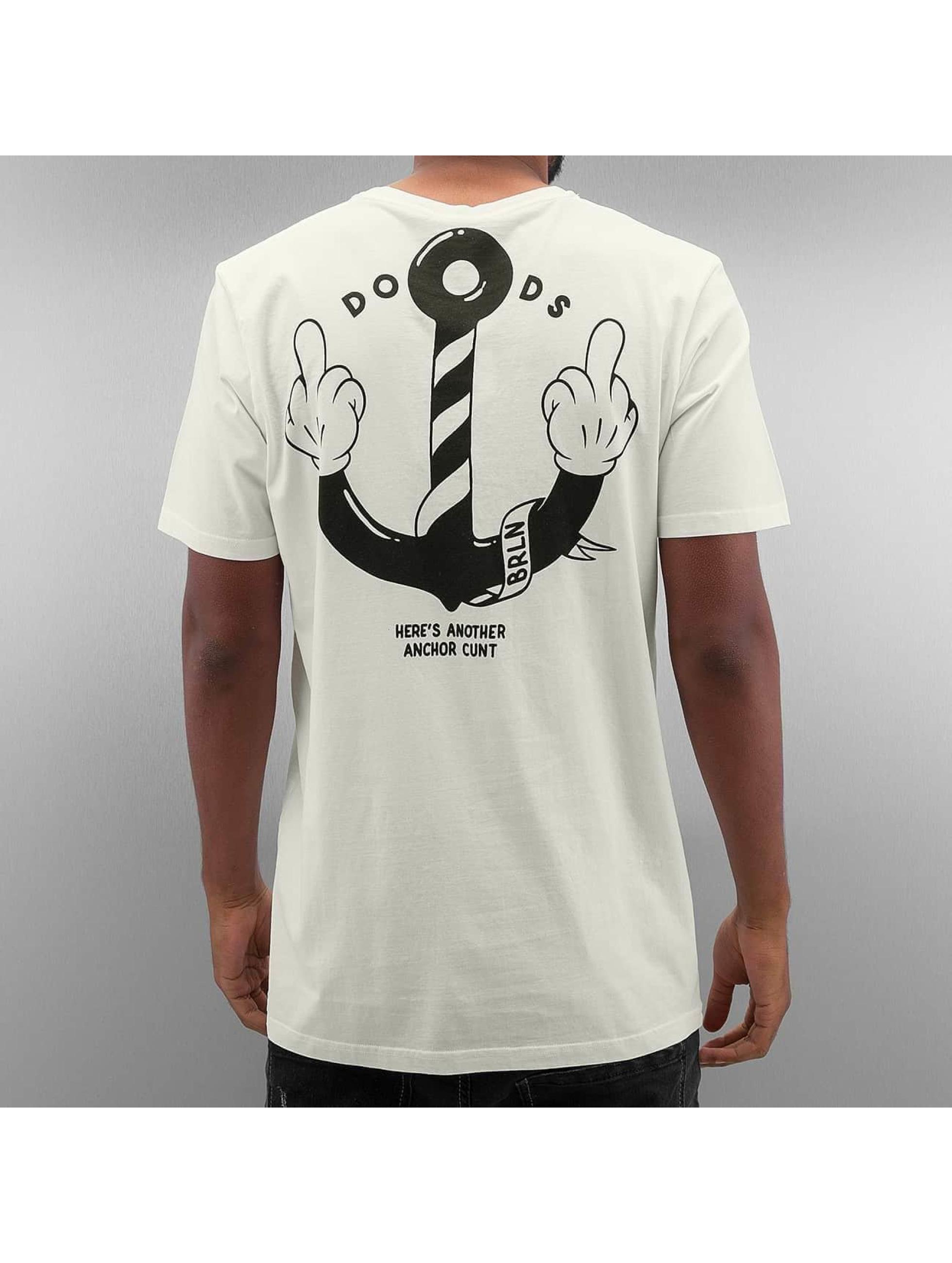 The Dudes T-Shirt Anchor white