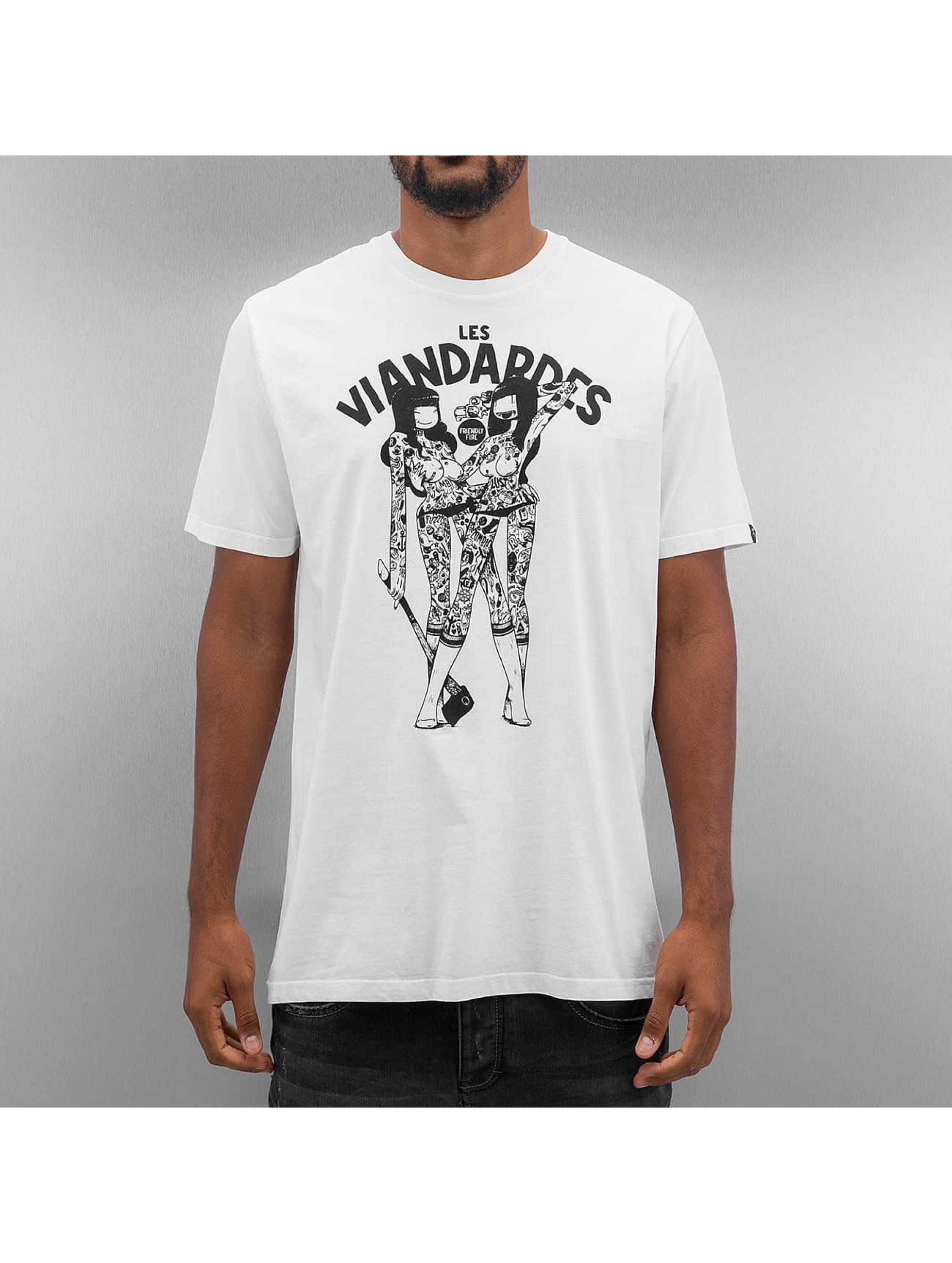 The Dudes t-shirt Viandardes wit