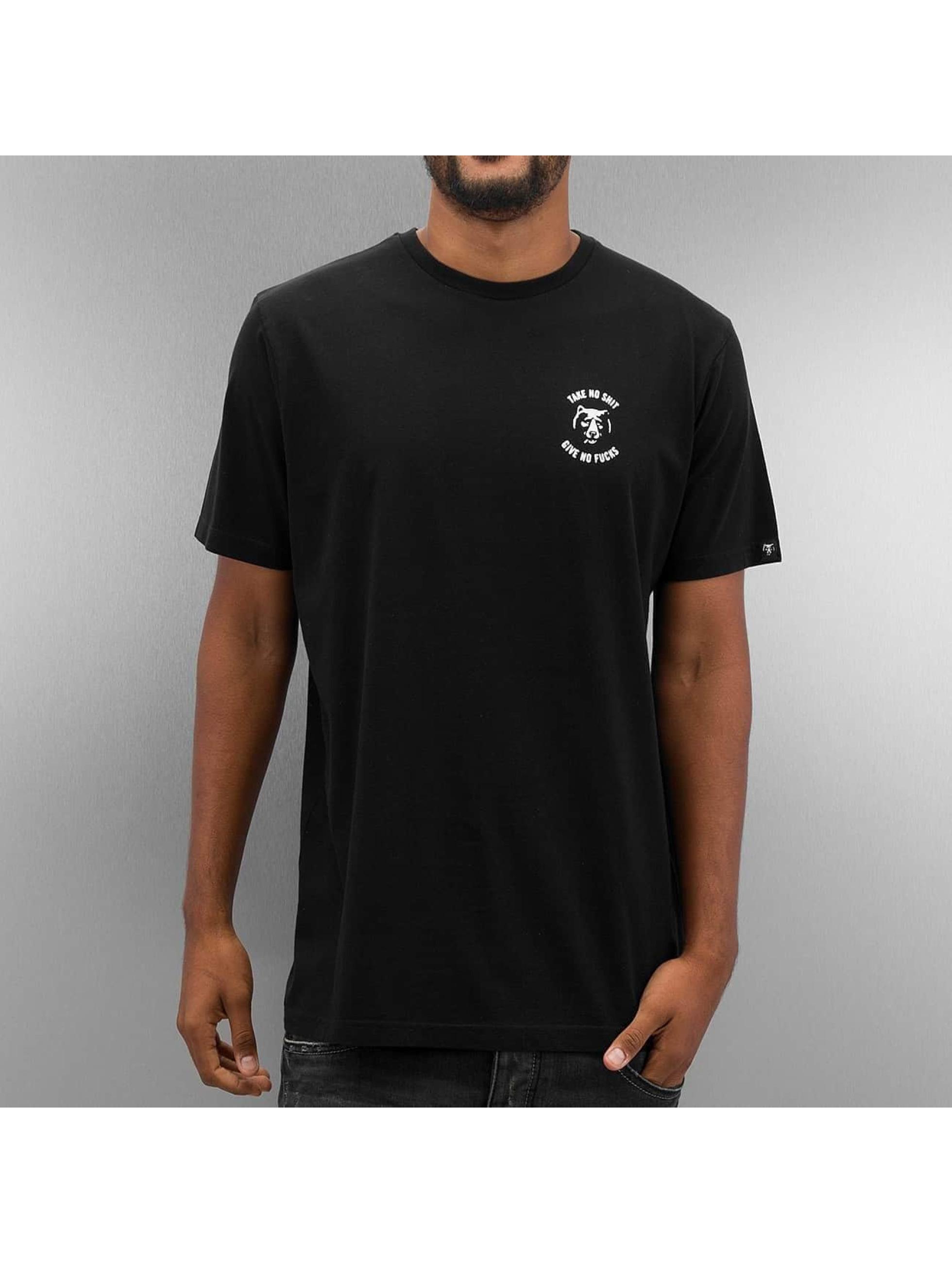The Dudes t-shirt SNGAF zwart