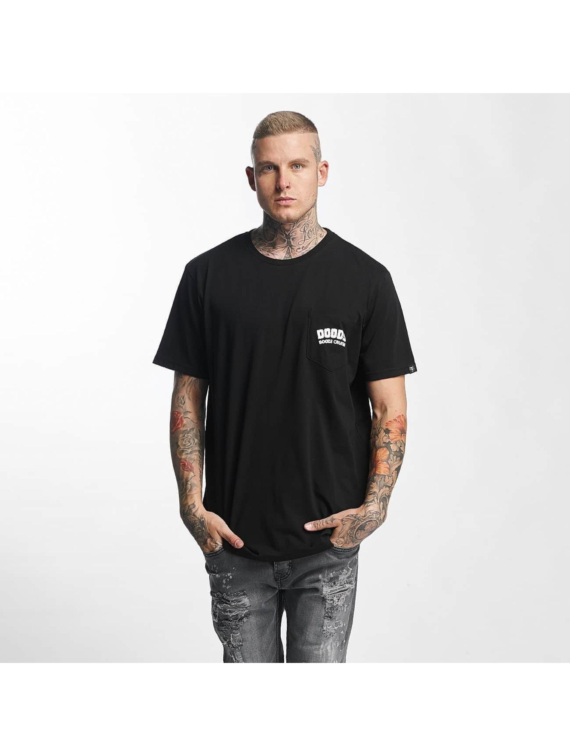 The Dudes t-shirt Booze Cruise zwart