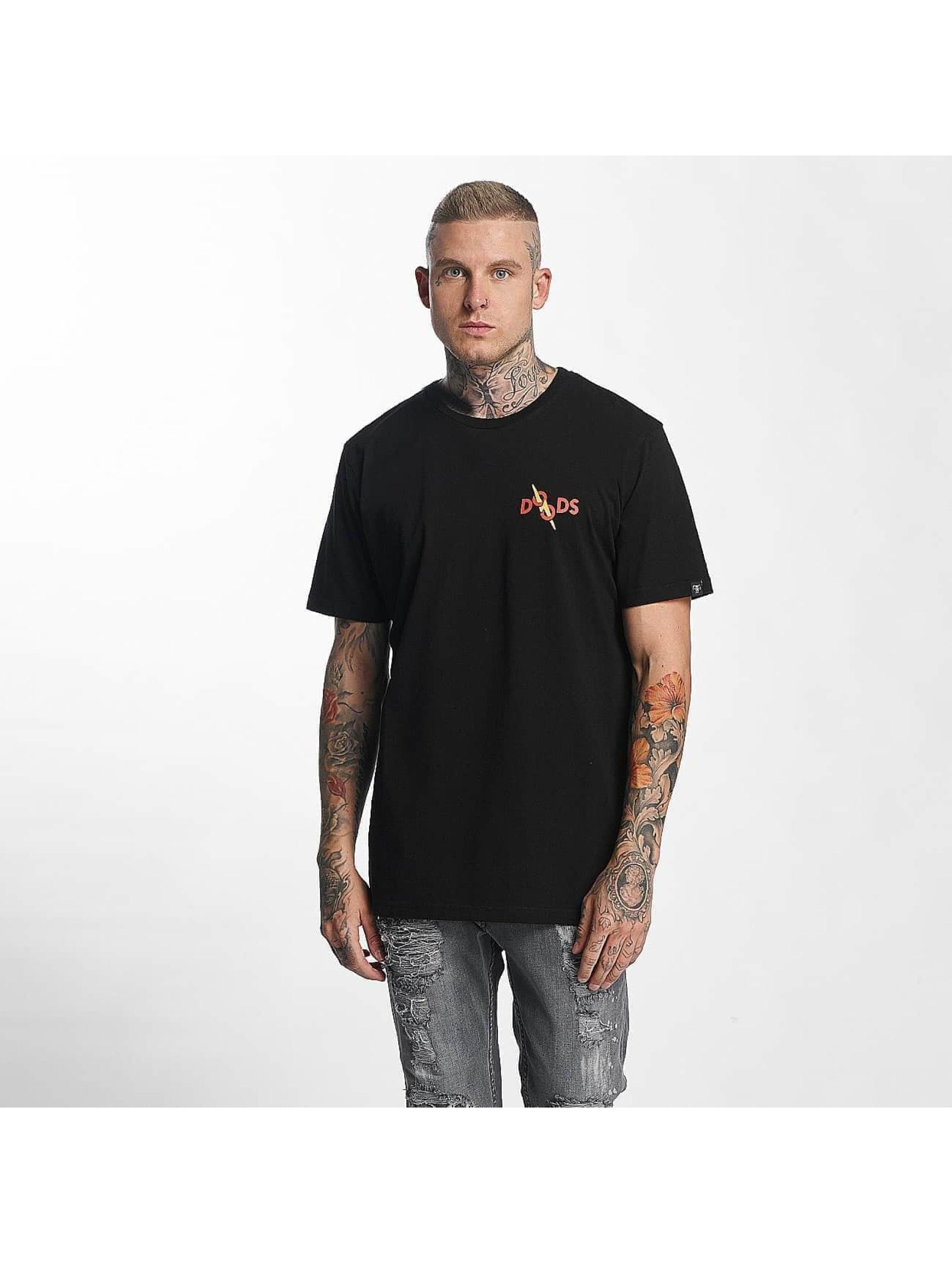 The Dudes t-shirt Chili Cheese zwart