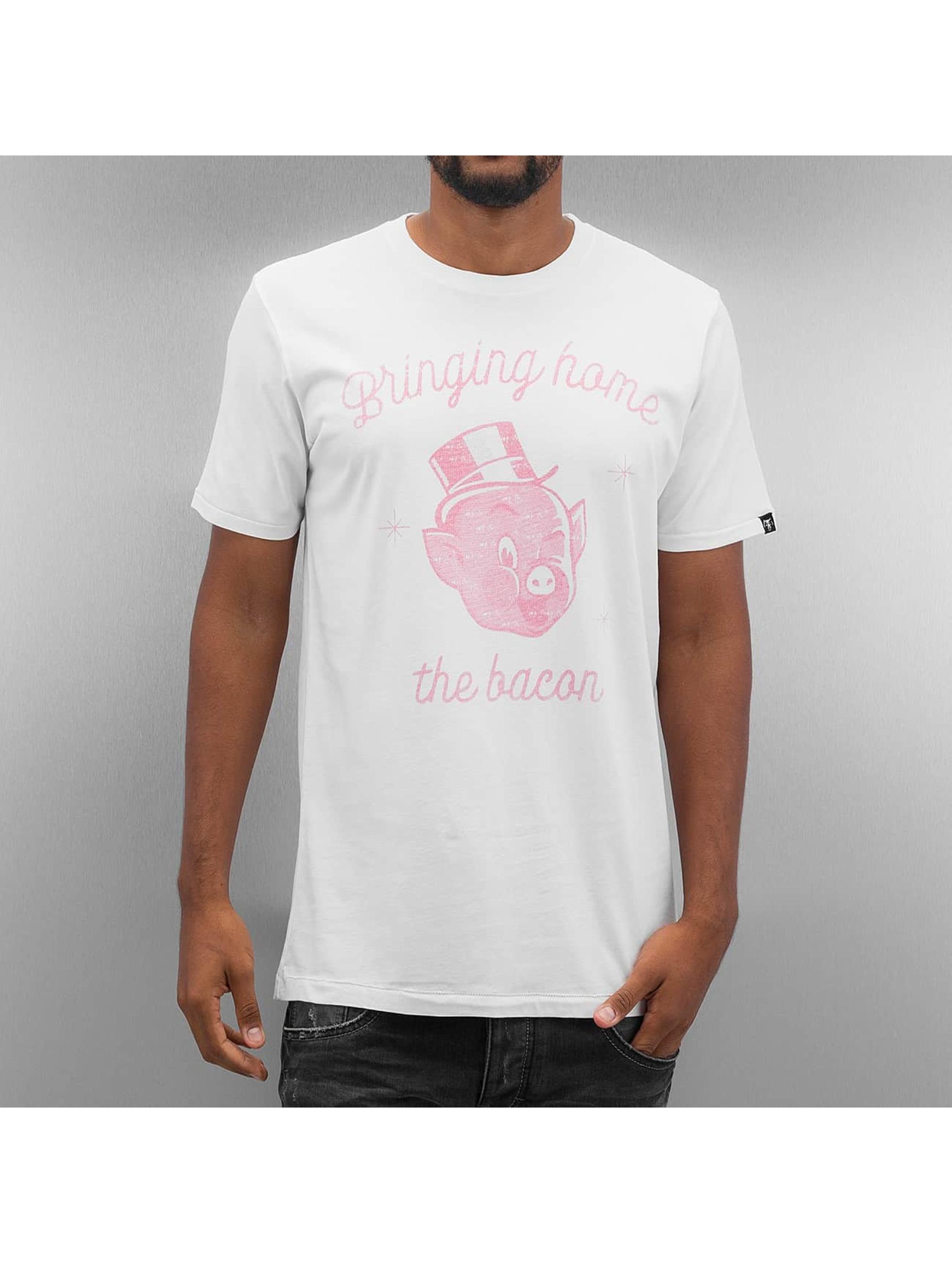The Dudes T-skjorter Bacon hvit