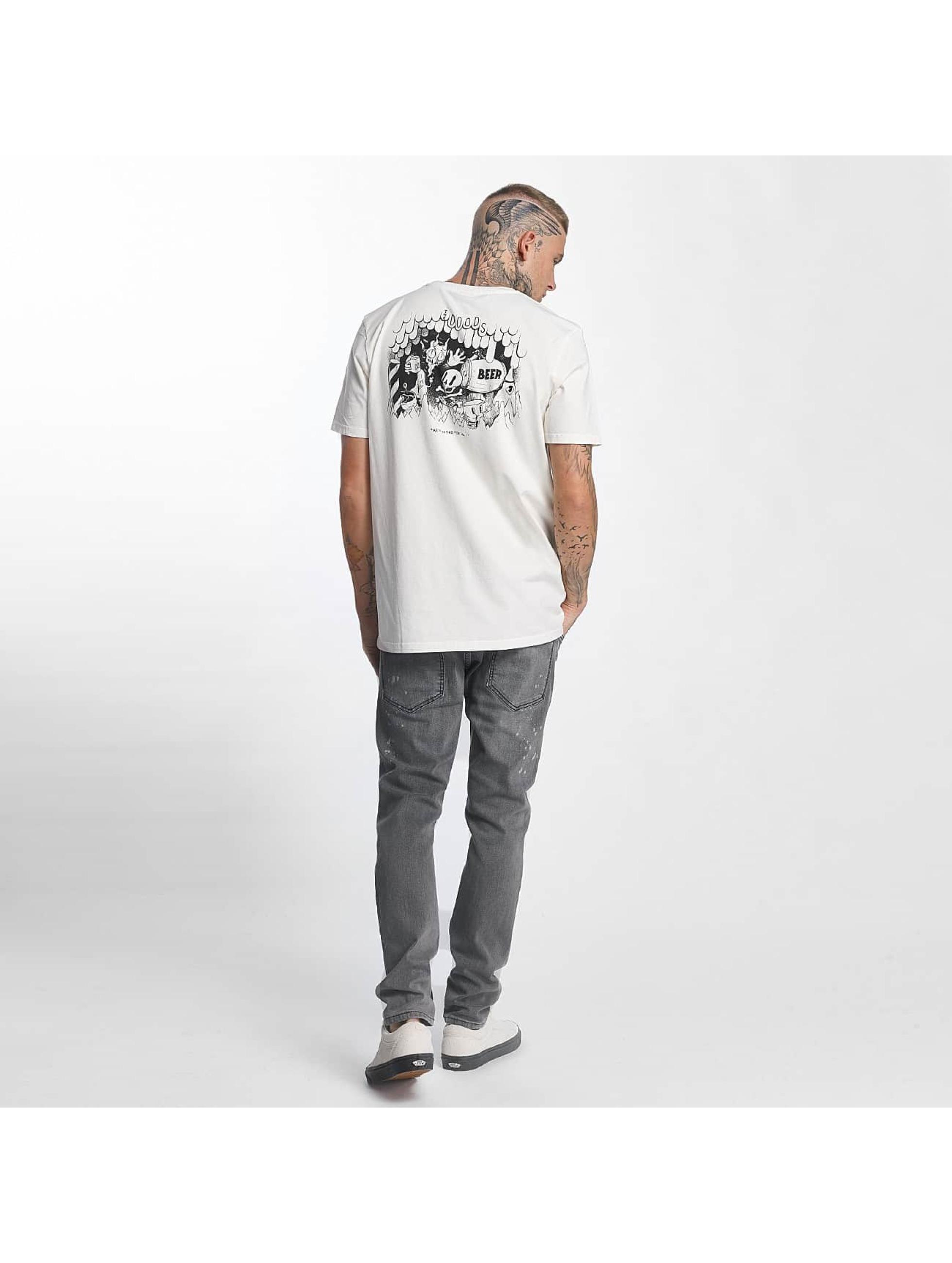 The Dudes T-skjorter Helles hvit