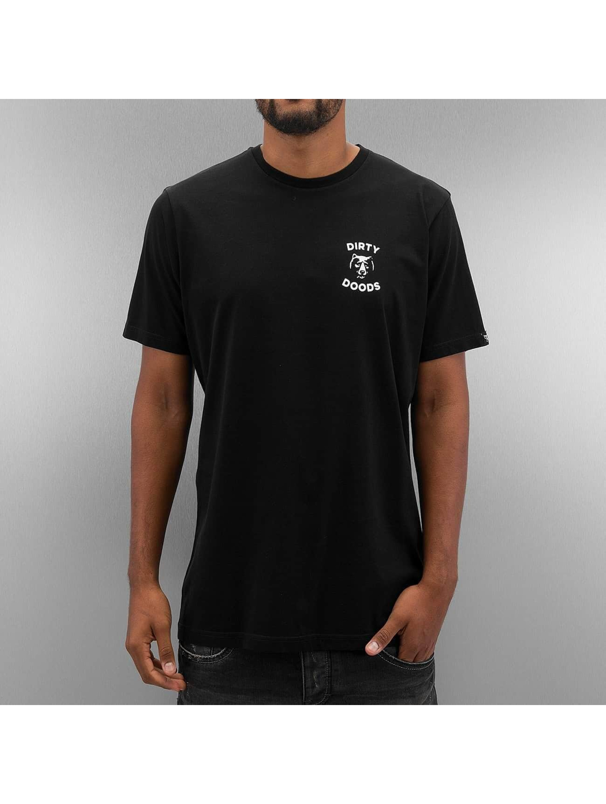The Dudes T-skjorter Dirty Deeds svart