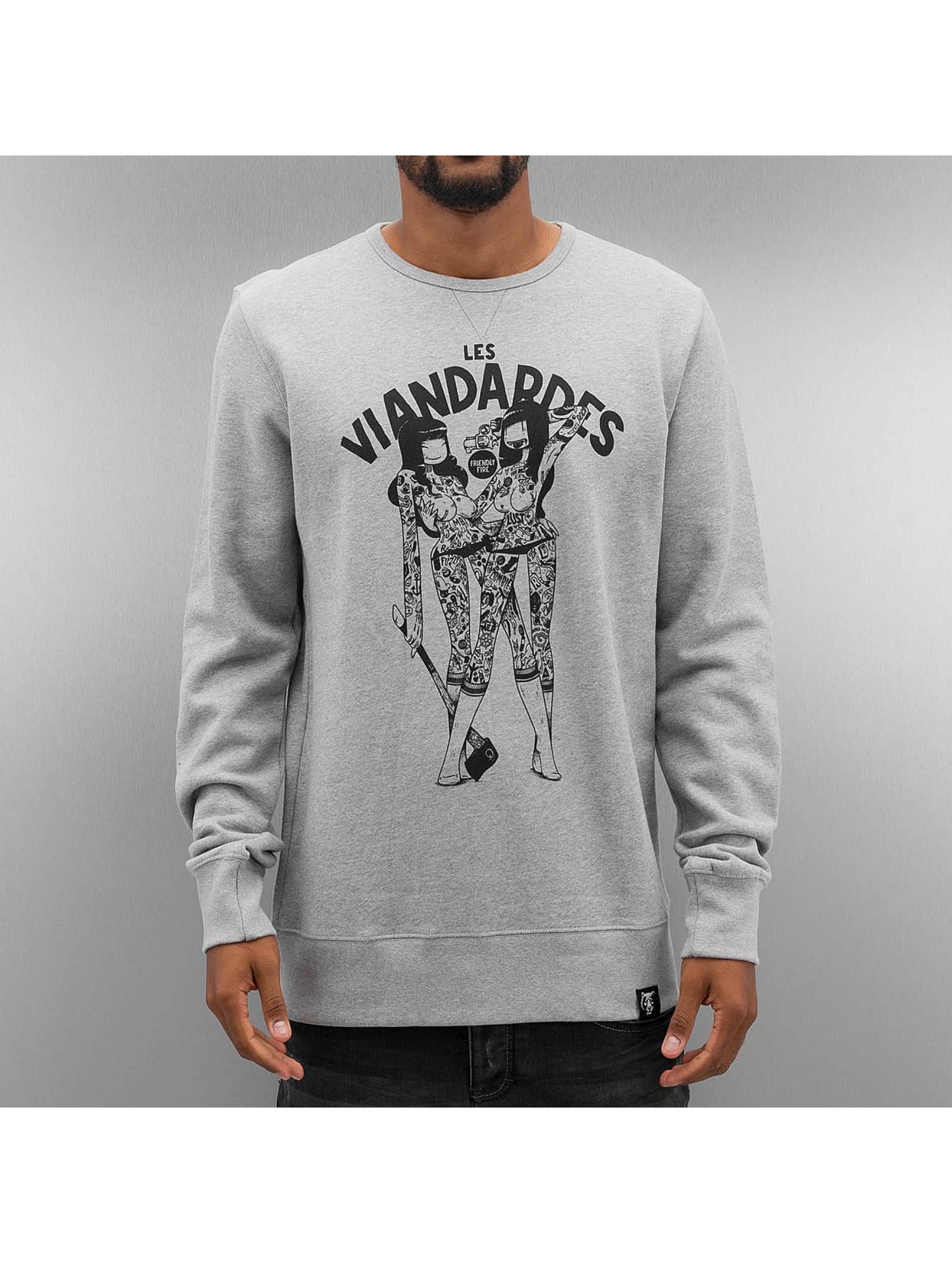 The Dudes trui Viandardes grijs
