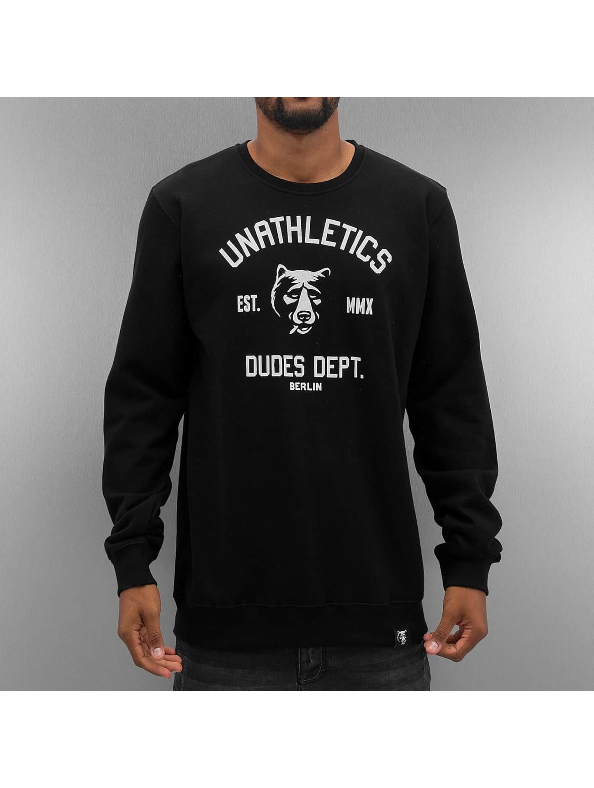 The Dudes trui Unathletics Smoke zwart
