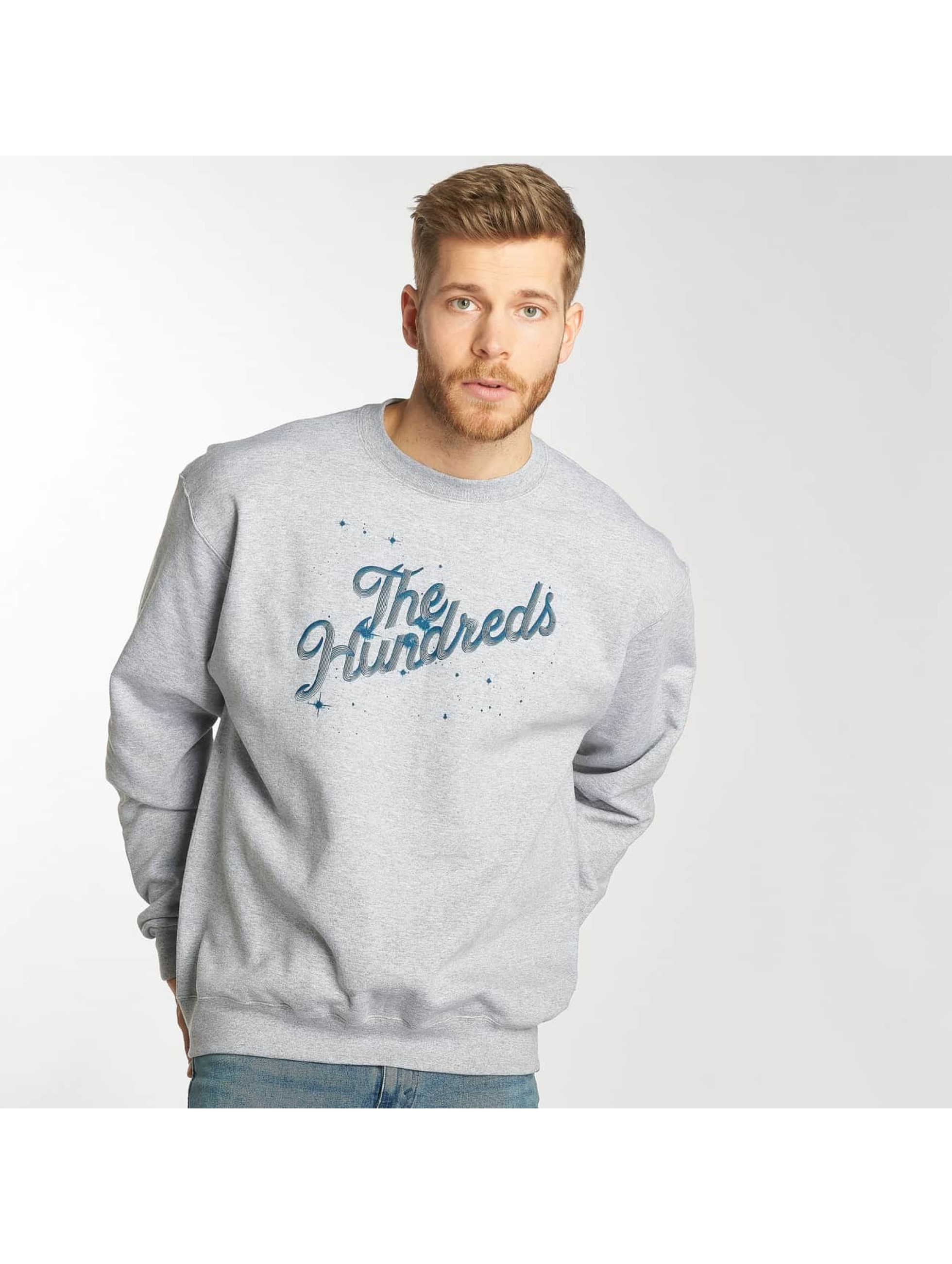 The Hundreds Пуловер Search Slant серый
