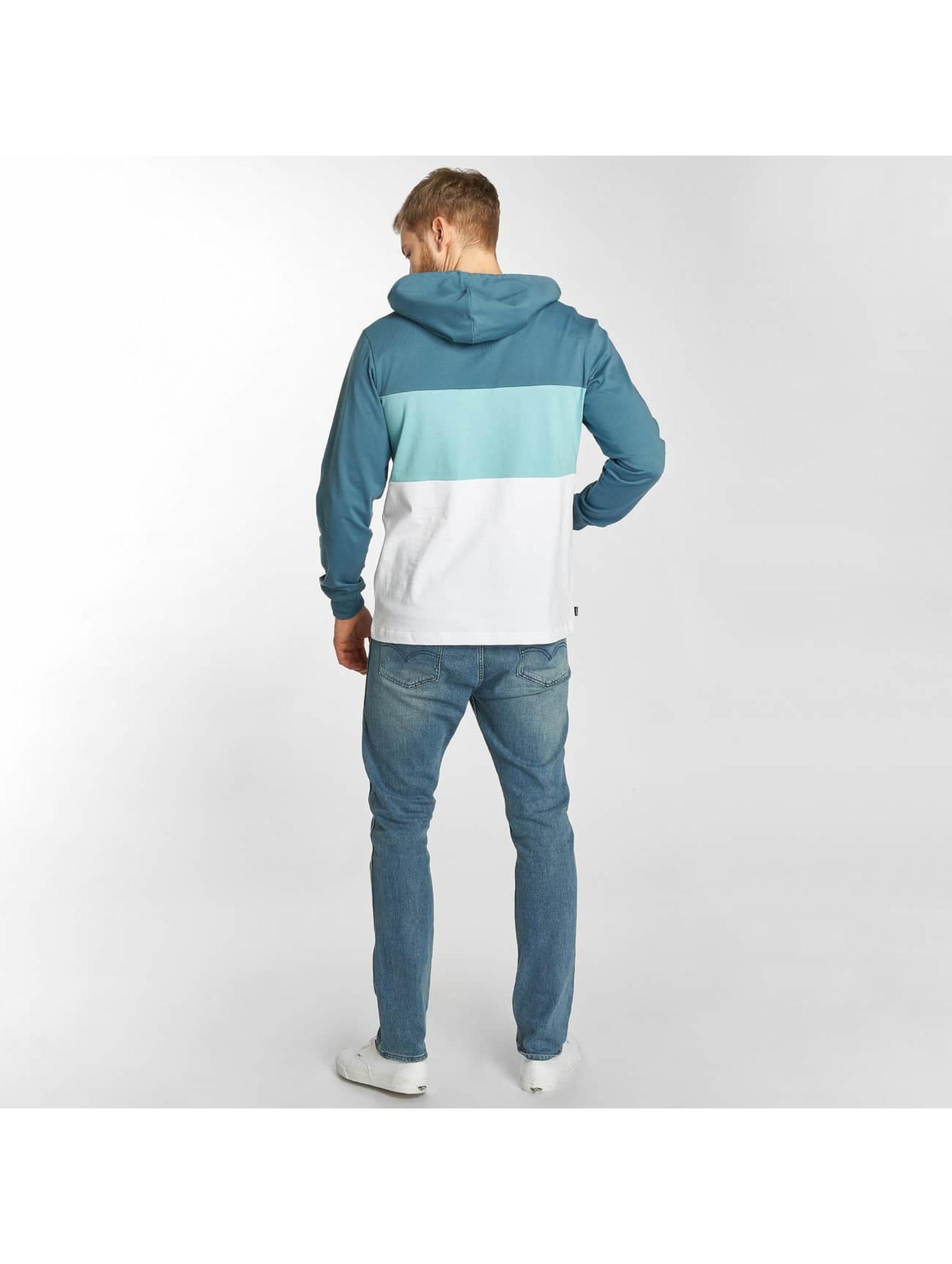 The Hundreds Bluzy z kapturem Deck niebieski