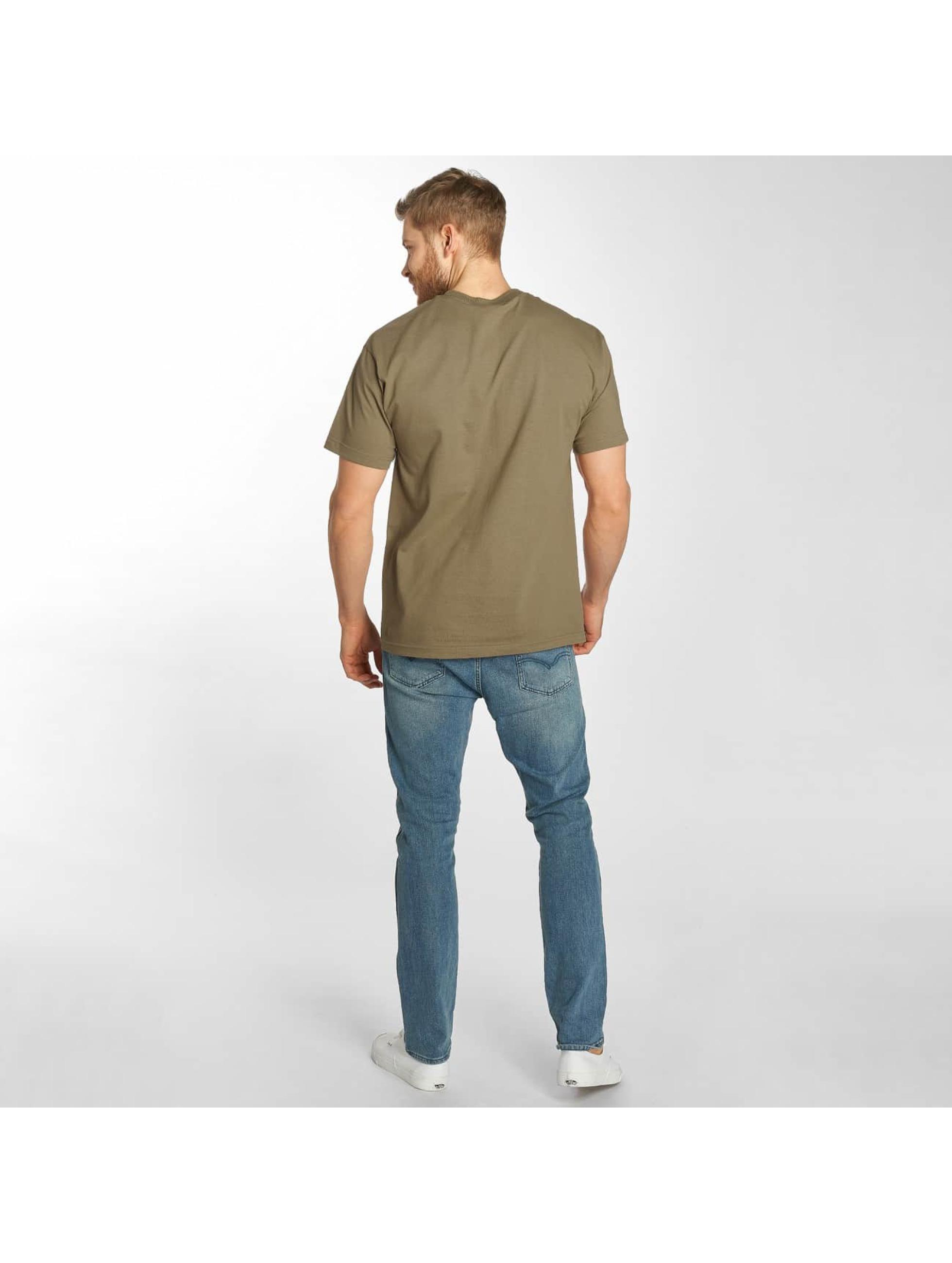 The Hundreds Camiseta Camo Bar marrón