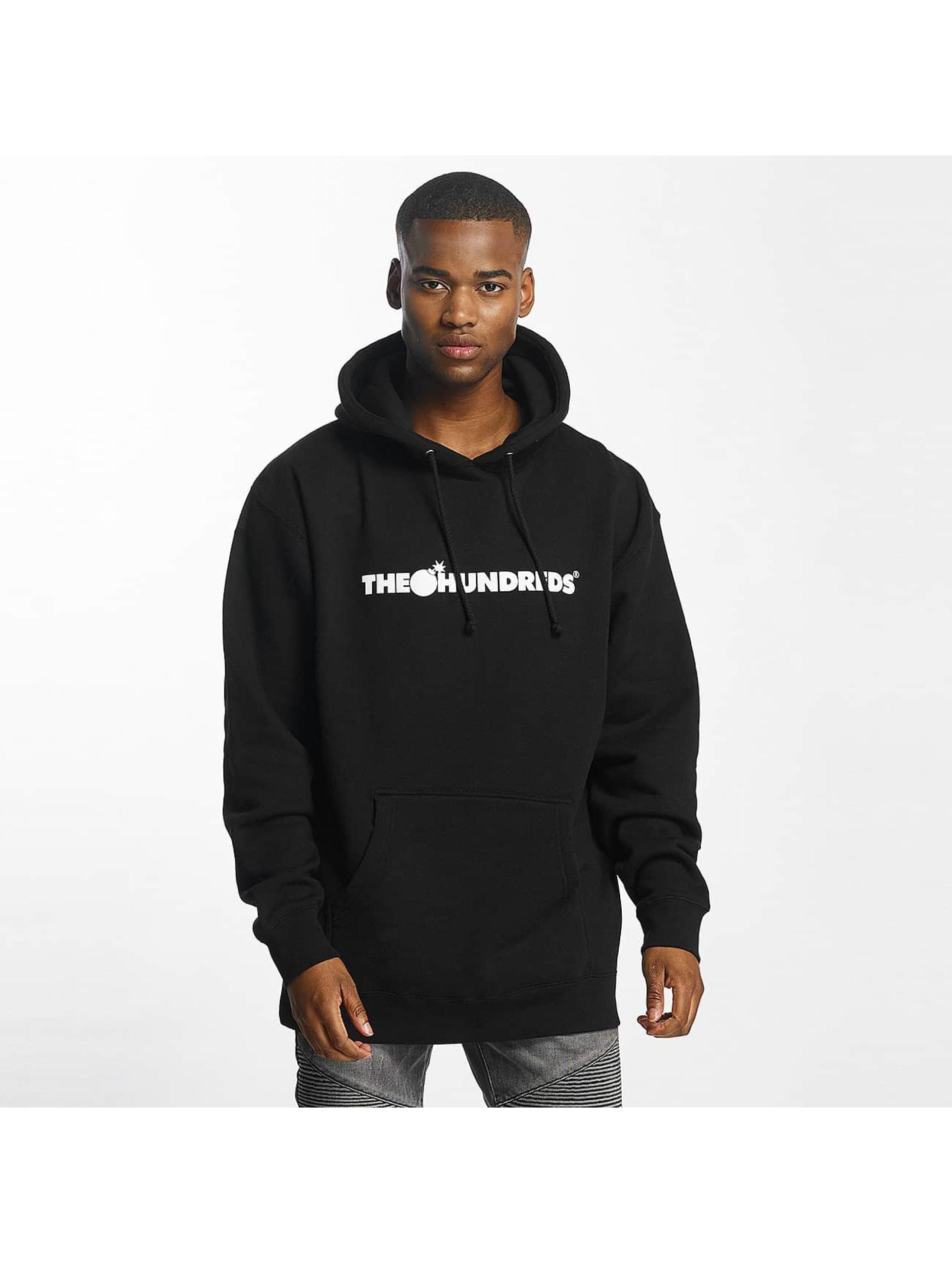 The Hundreds heren hoody Forever Bar Logo - zwart