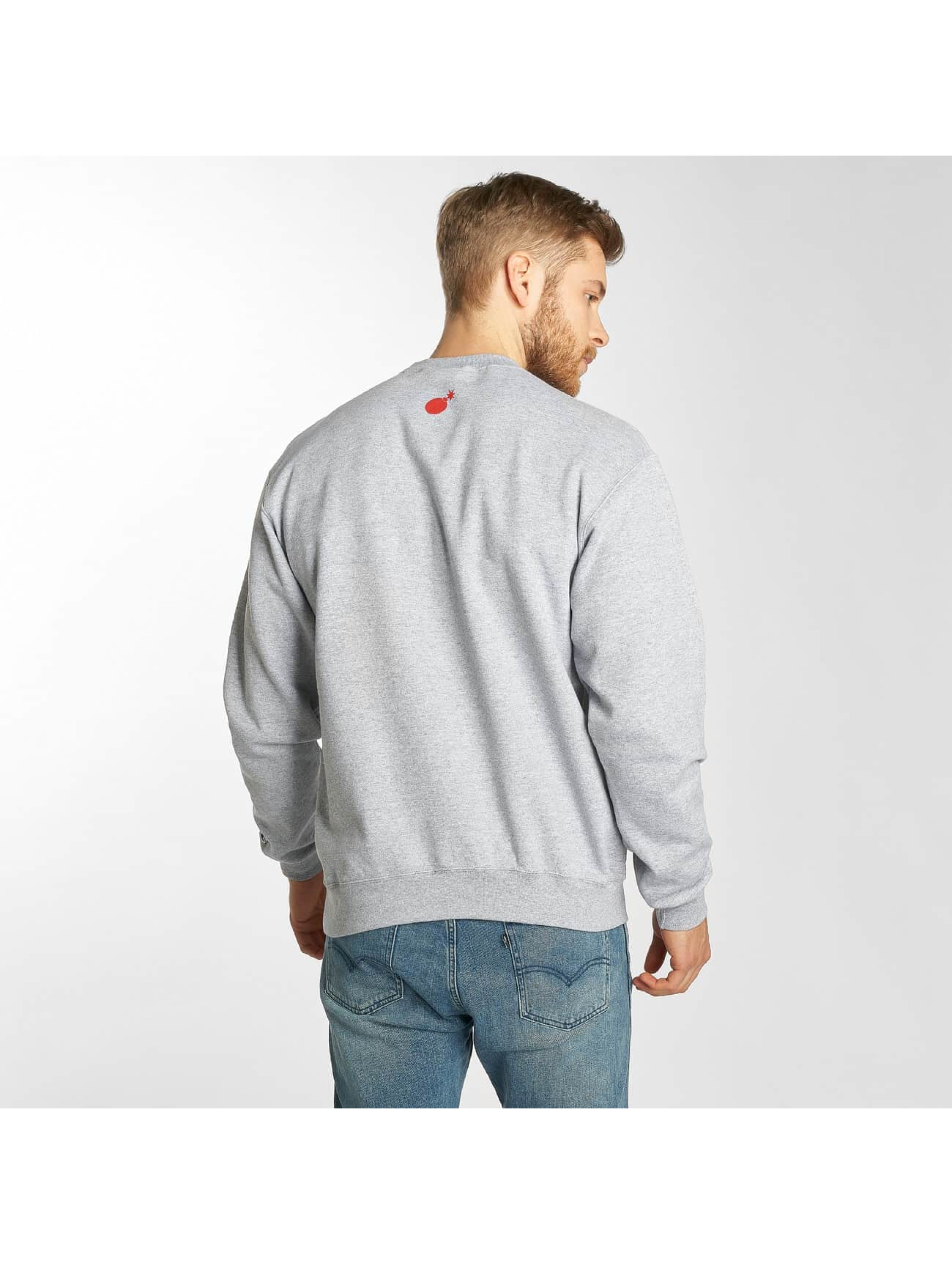 The Hundreds Pullover Lover grau