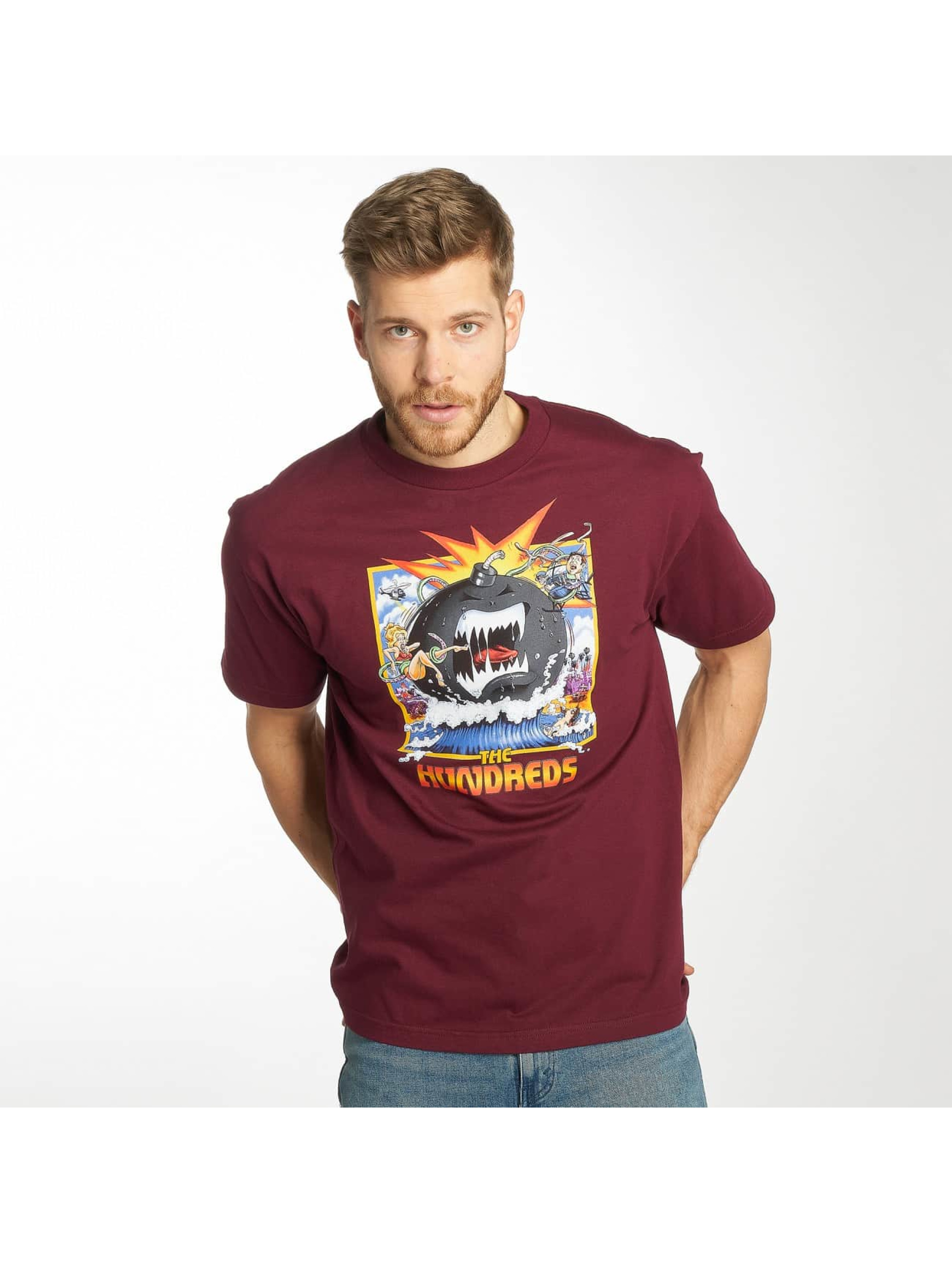 The Hundreds t-shirt Dixon rood