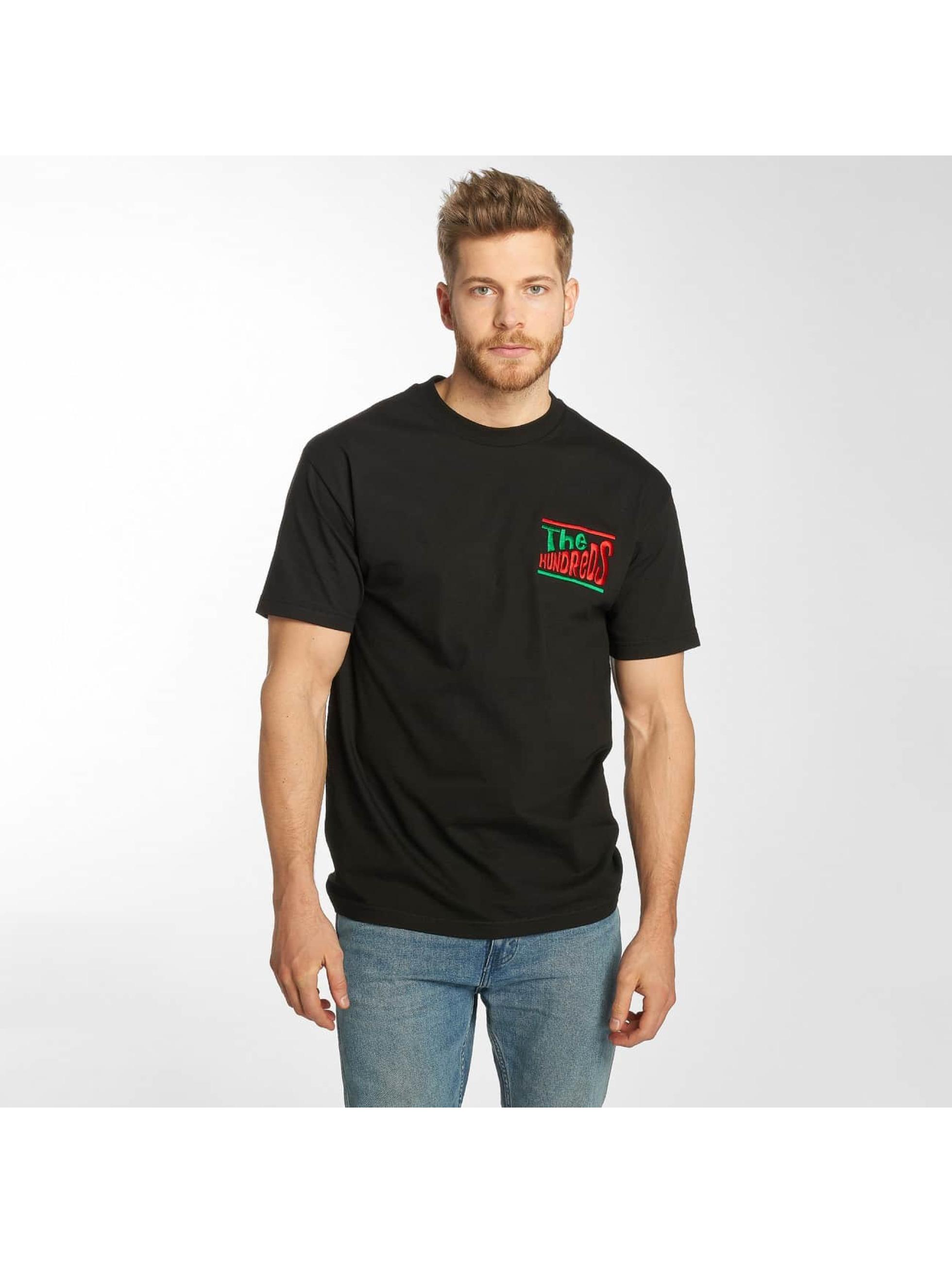 The Hundreds t-shirt HUNMTSS zwart