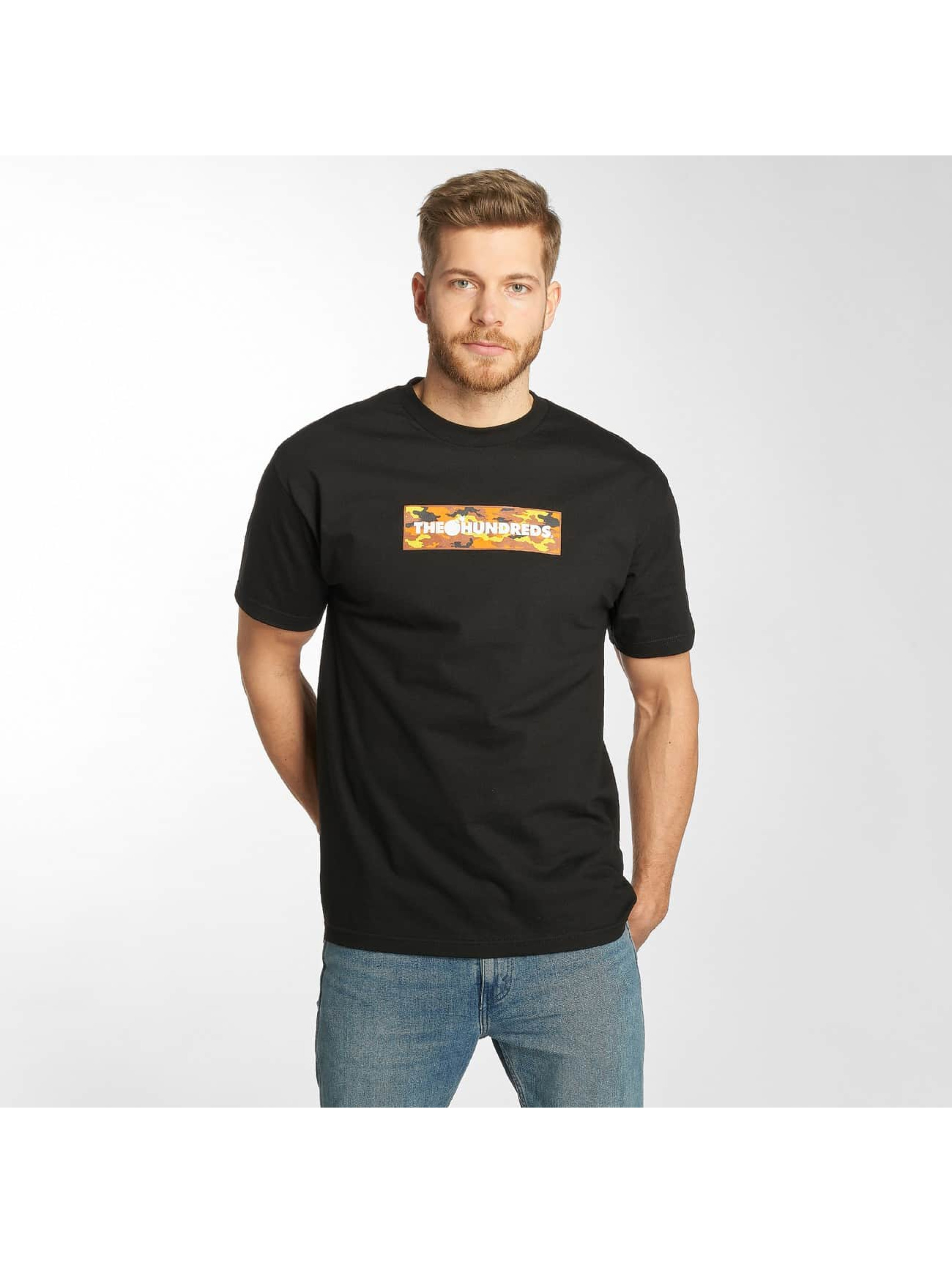 The Hundreds T-Shirty Camo Bar czarny
