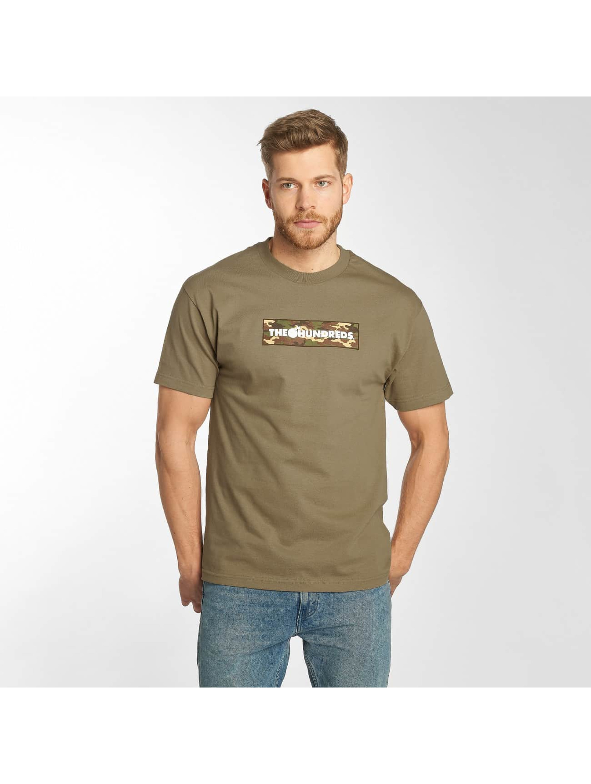 The Hundreds T-skjorter Camo Bar brun