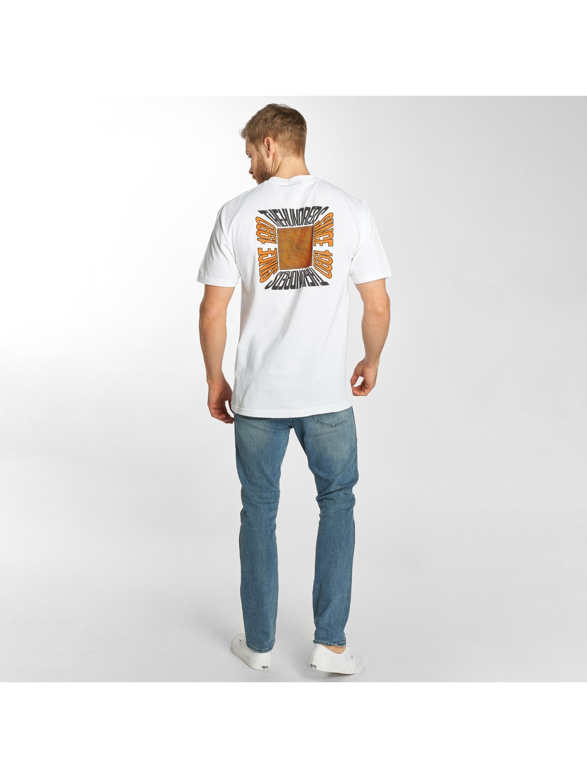 The Hundreds T-skjorter Square hvit