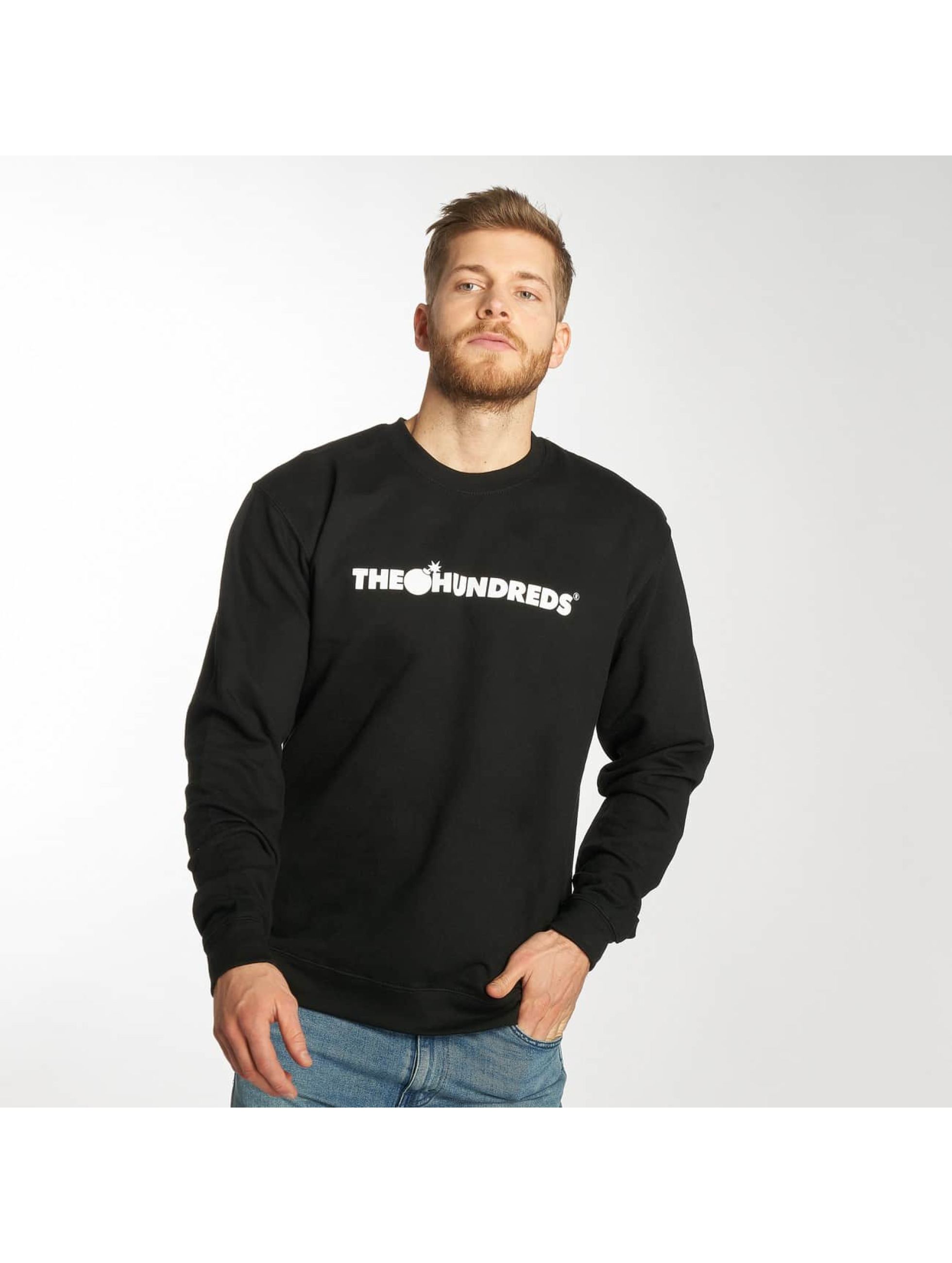 The Hundreds trui Forever Bar zwart
