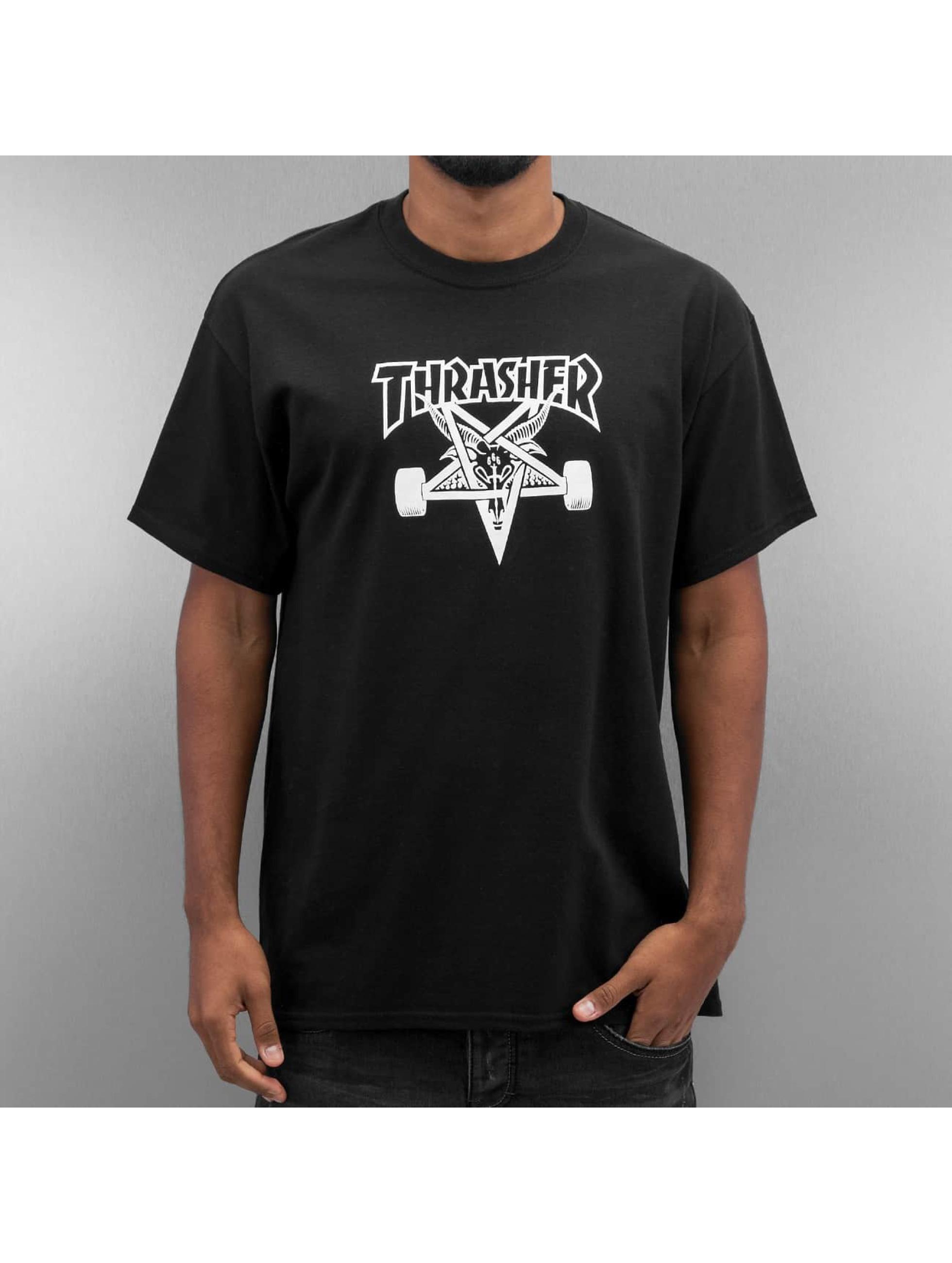 T-Shirt Skategoat in schwarz