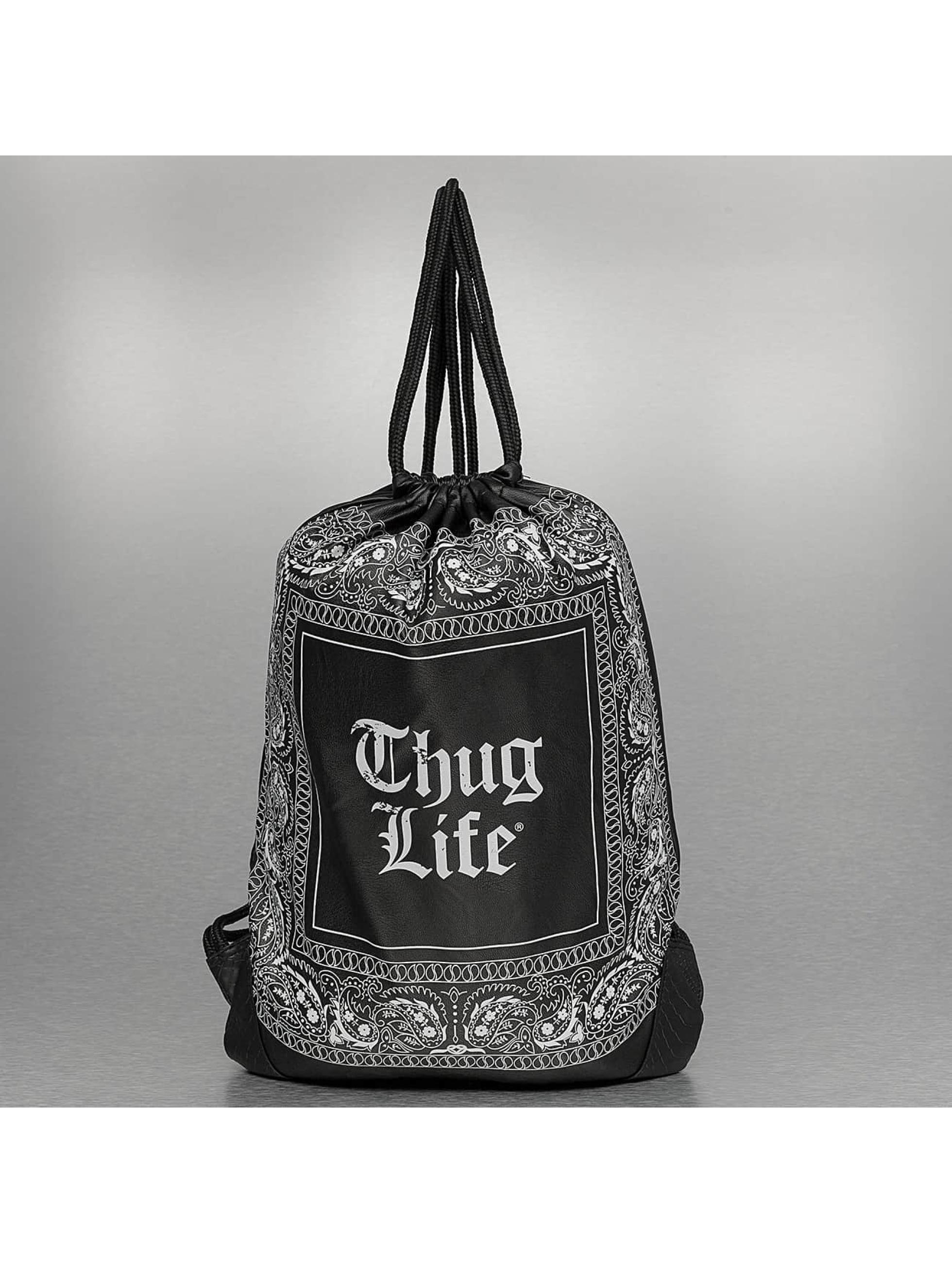 Thug Life Beutel Paisley черный