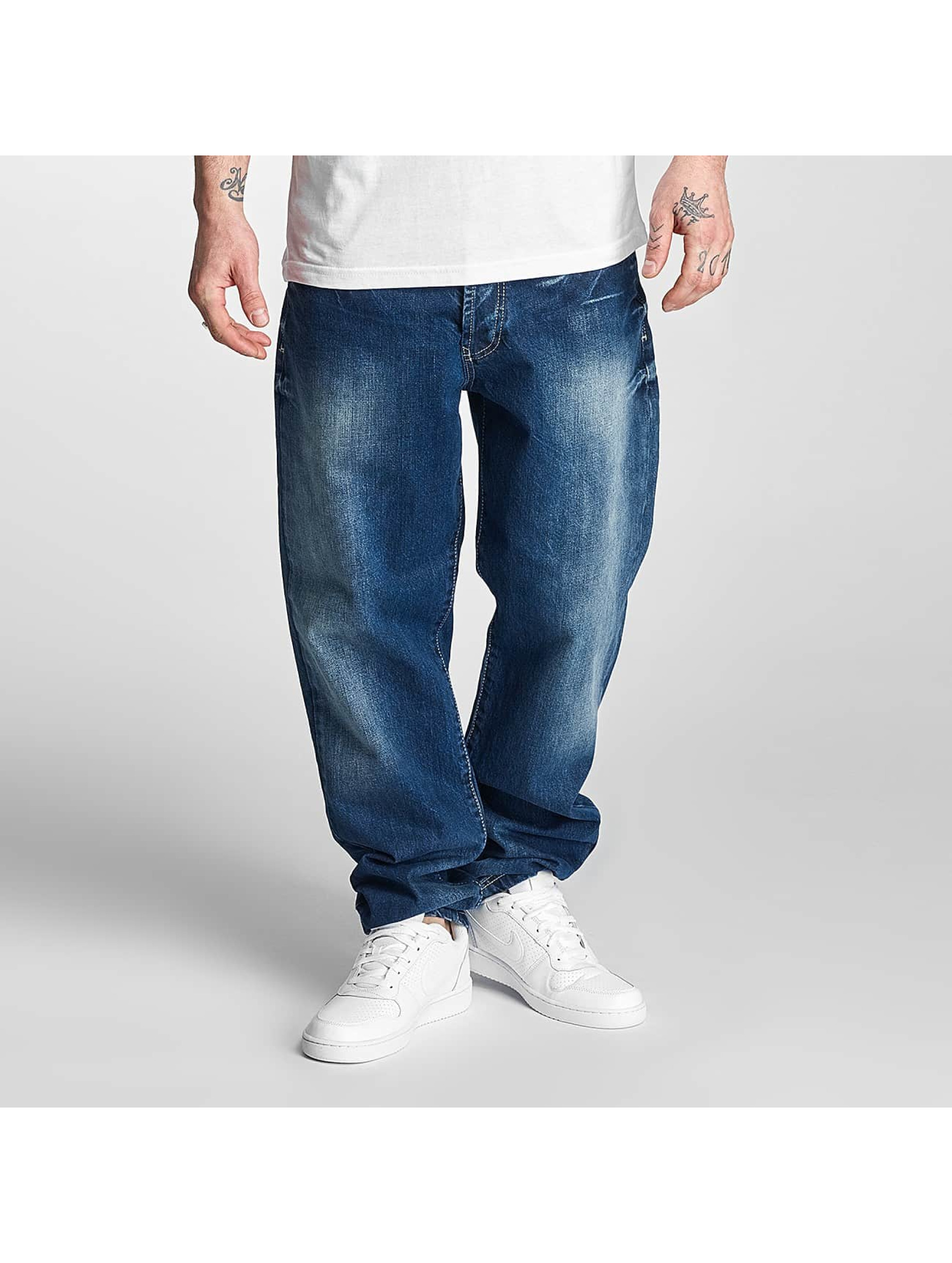 Thug Life Carrot Fit Jeans Anadyr blue