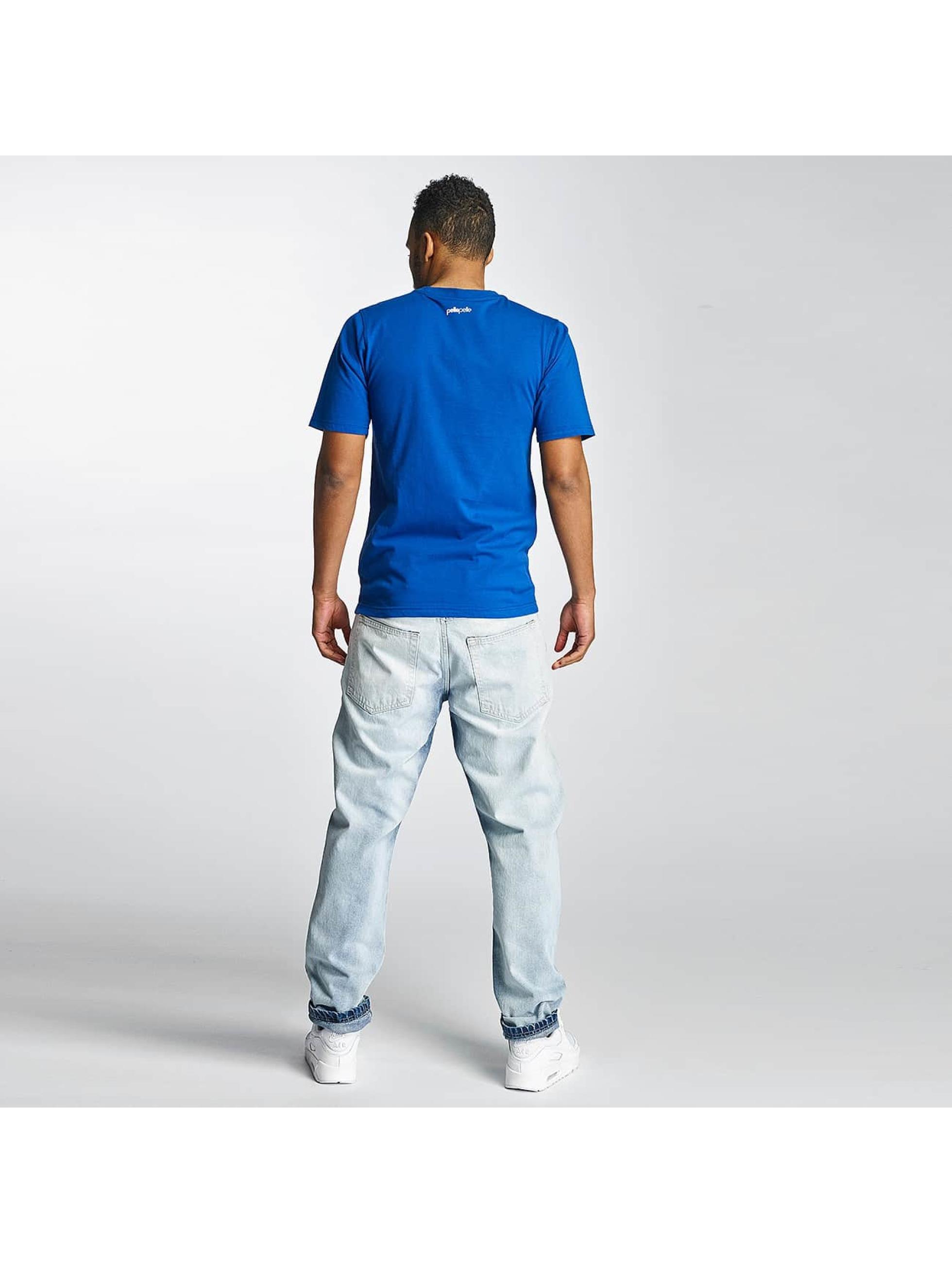 Thug Life Carrot Jeans Washed niebieski