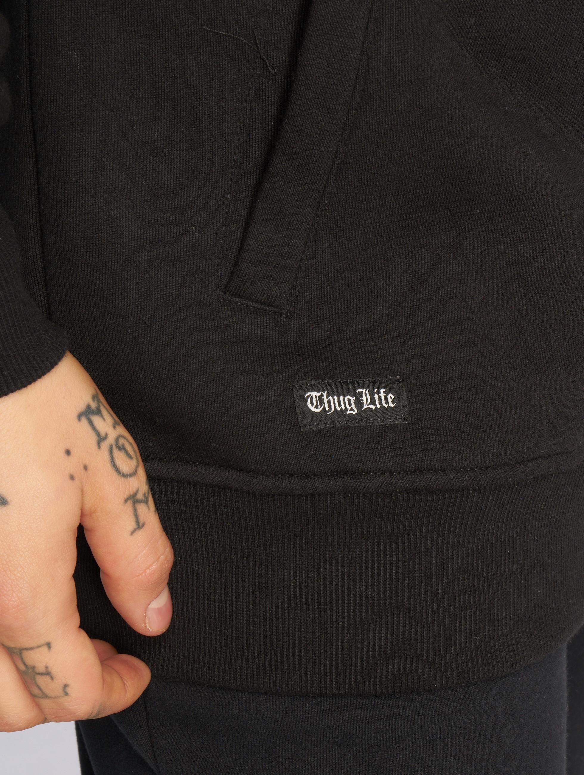 Thug Life Hoody Z-Ro schwarz