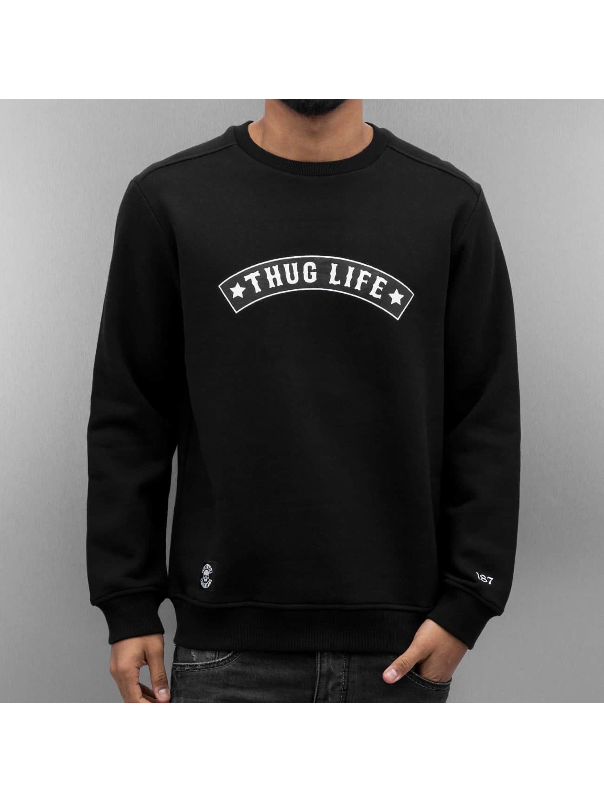 Thug Life Jumper Rudedigga black