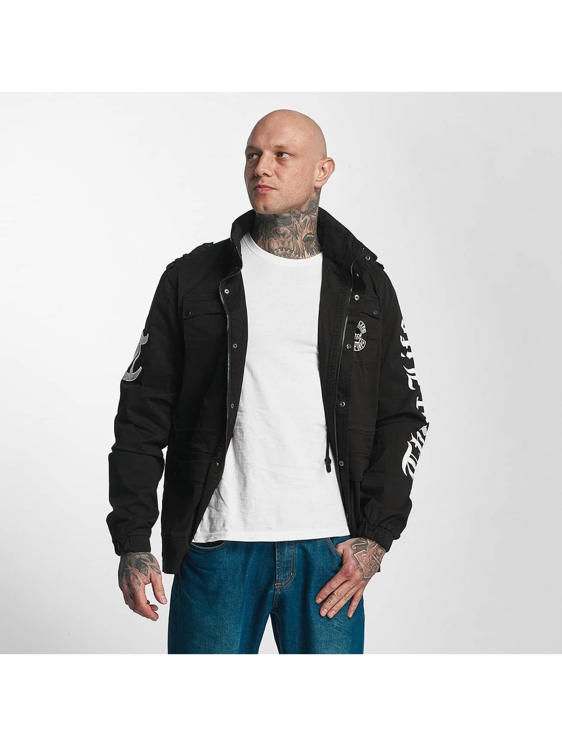 Thug Life Lightweight Jacket 187 black