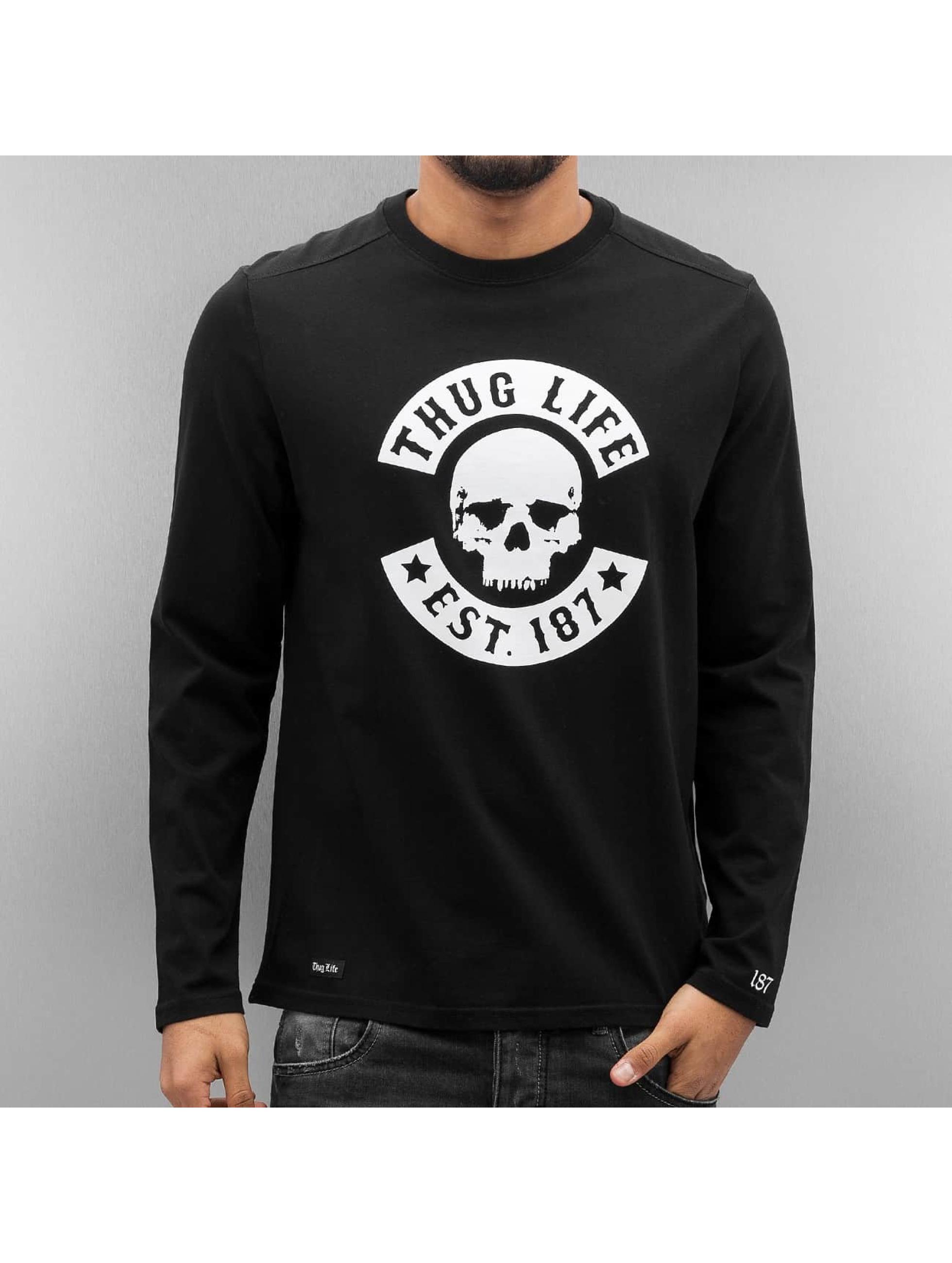 Thug Life Longsleeve Z-Ro schwarz