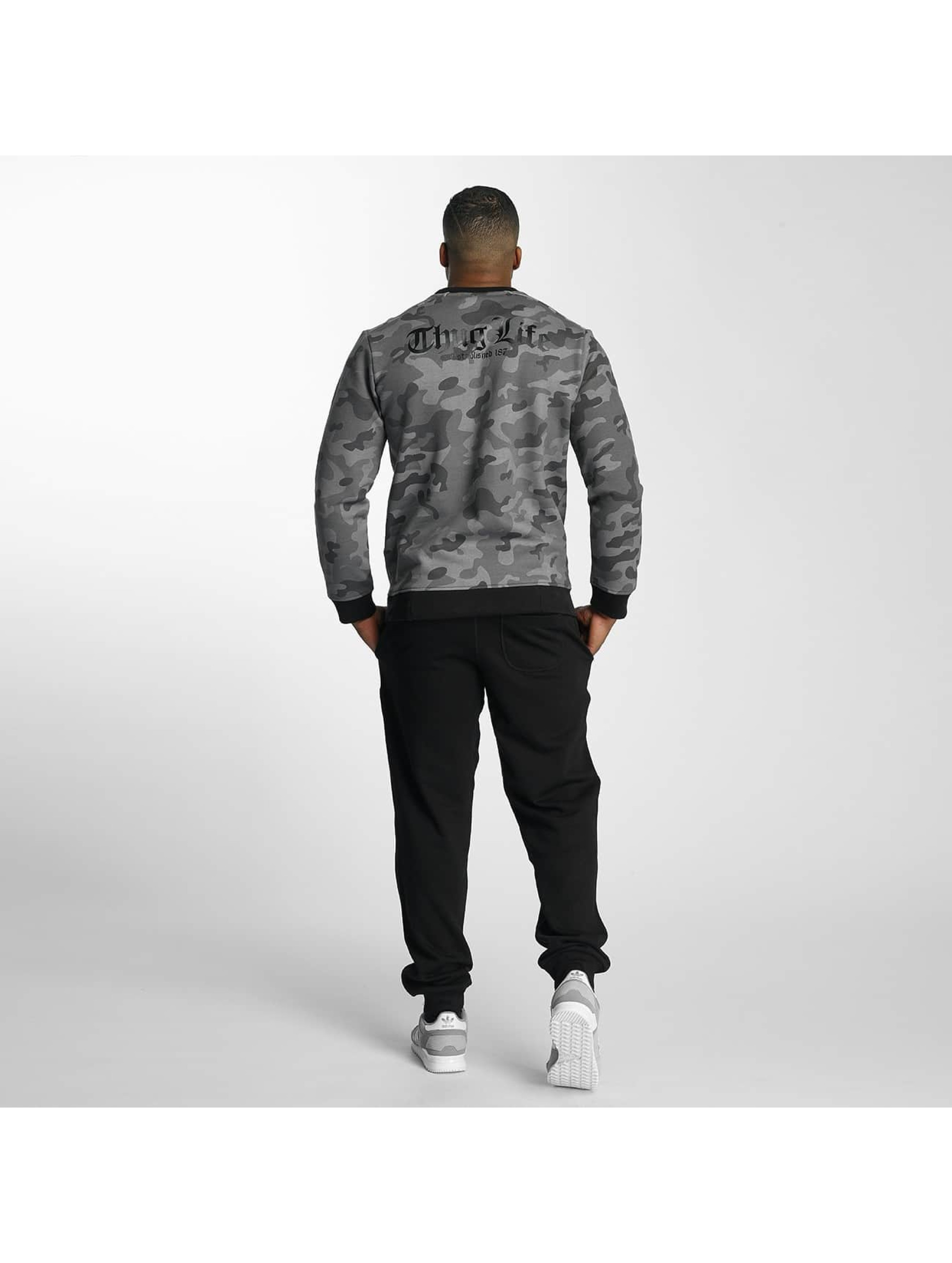 Thug Life Pullover Attack camouflage