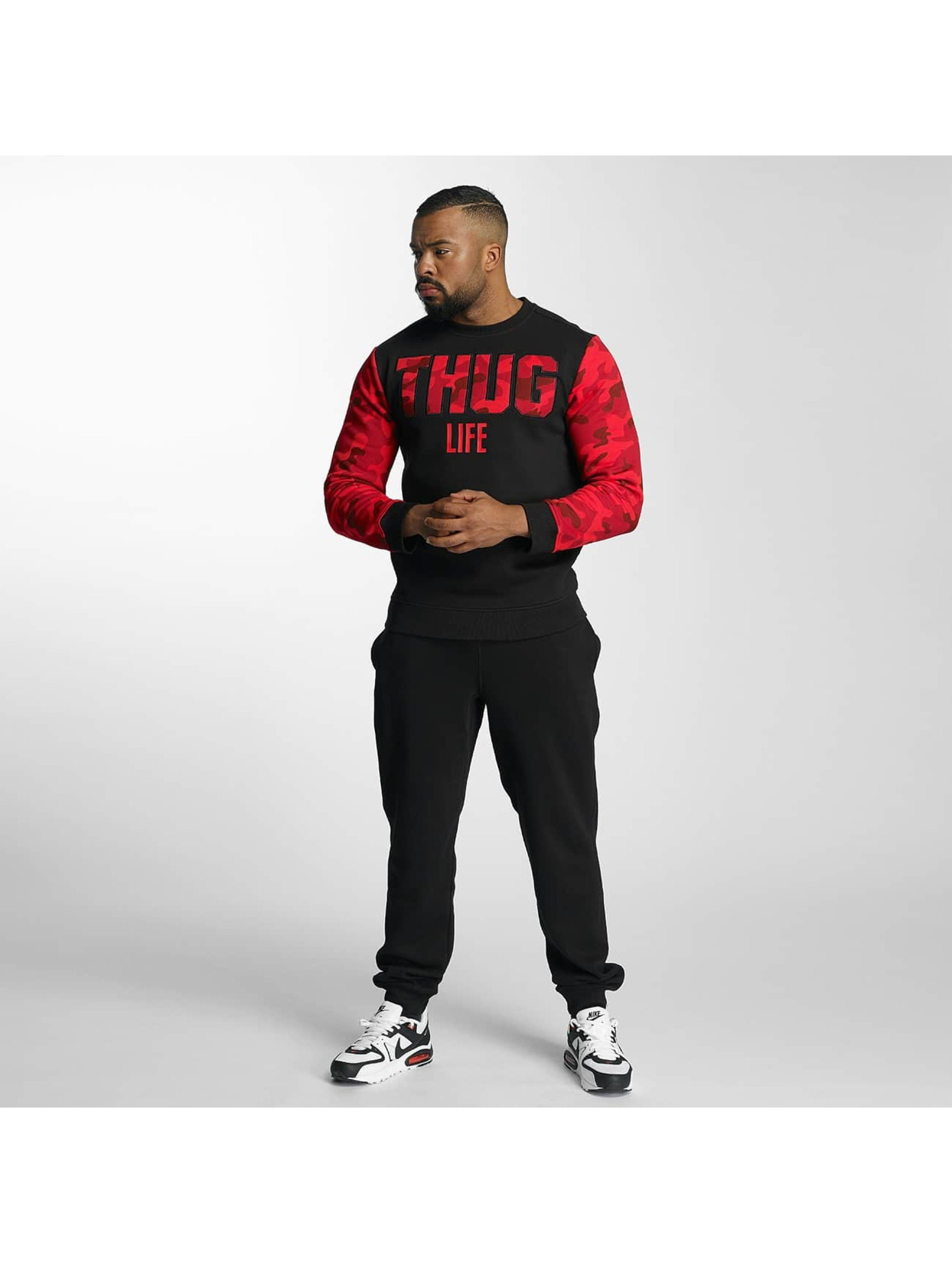 Thug Life Pullover Zombi red