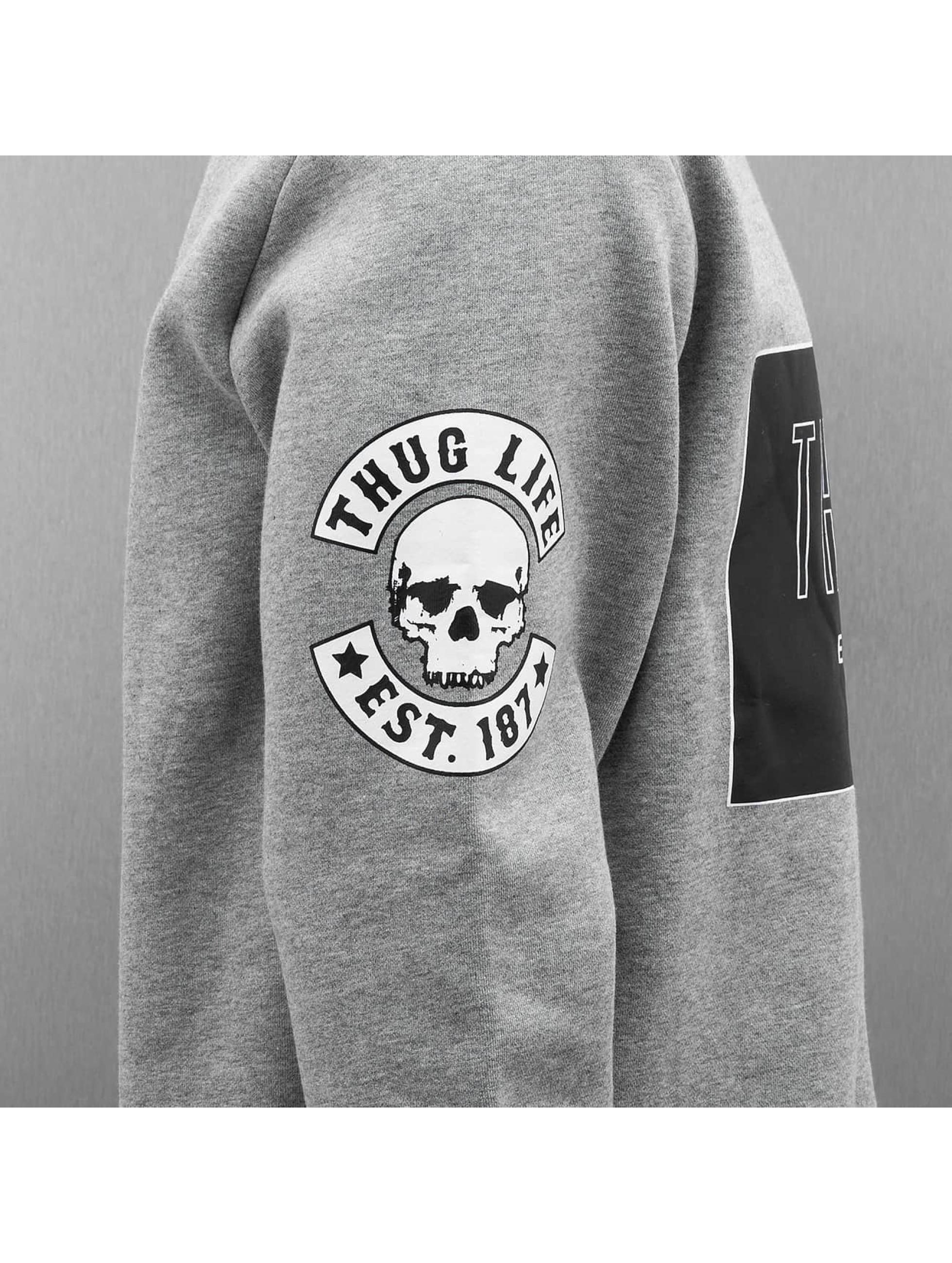 Thug Life Pulóvre Zoro Digga šedá