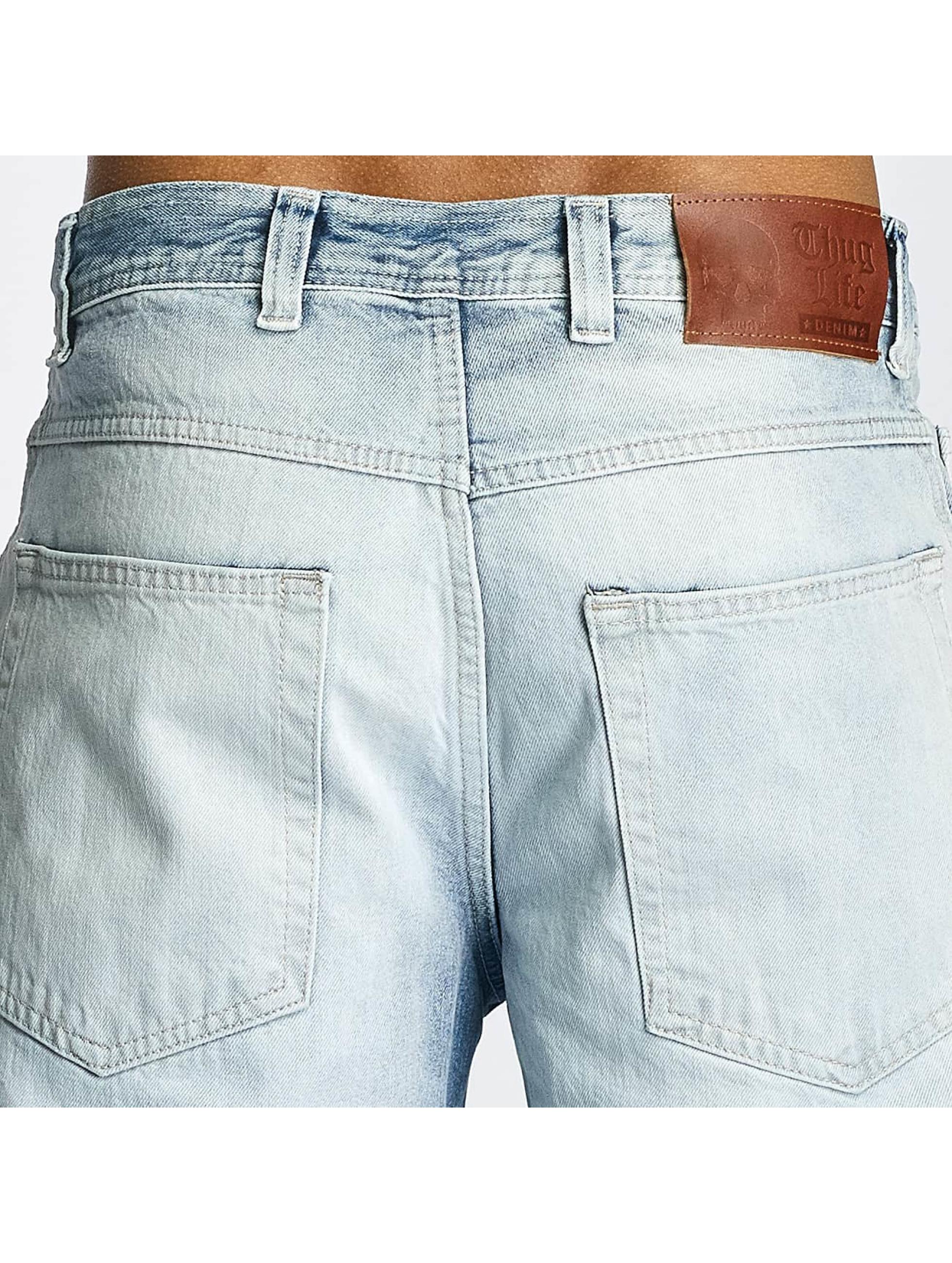 Thug Life Raka jeans Washed blå