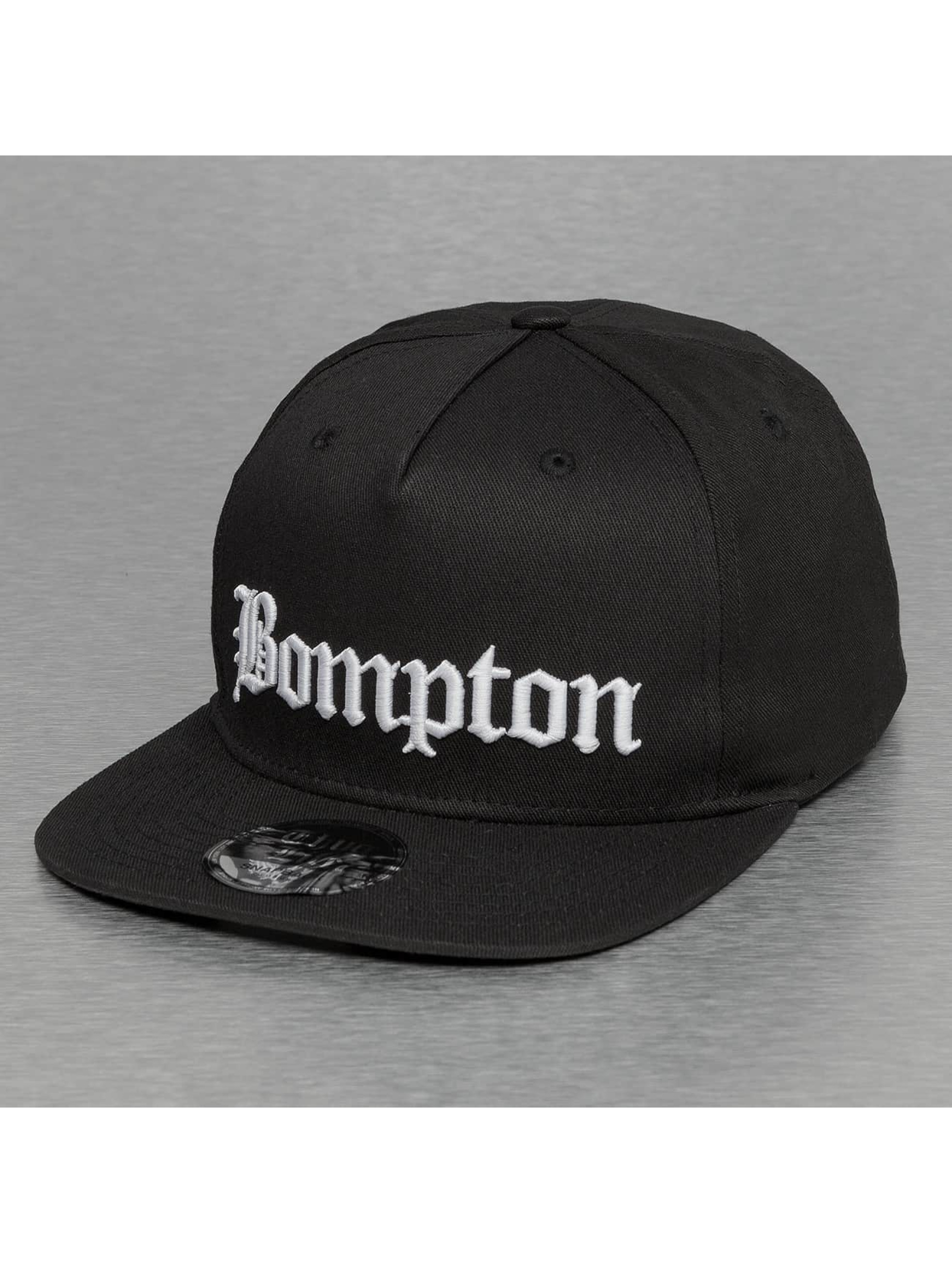 Thug Life Snapback Bompton èierna