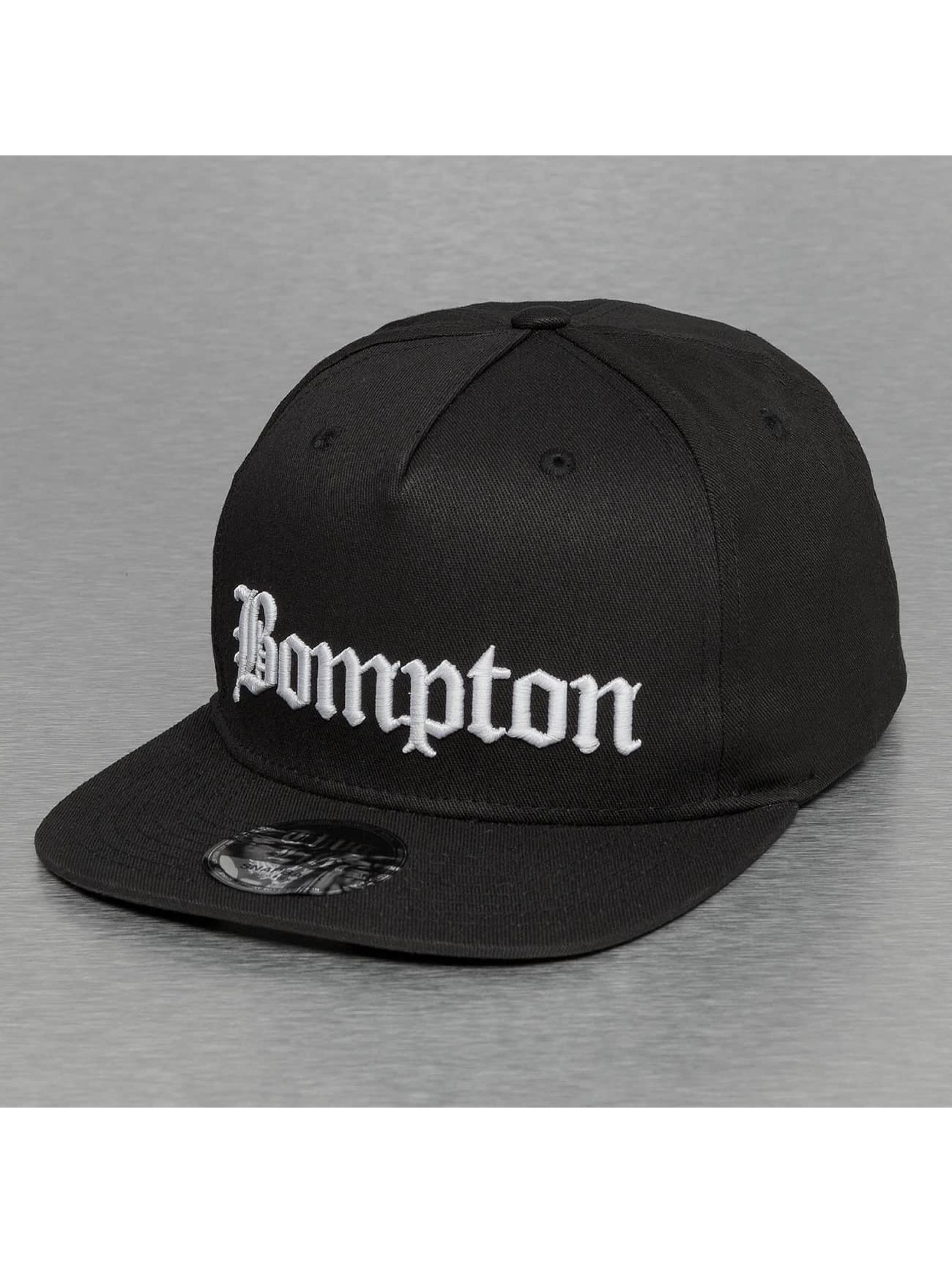 Thug Life Snapback Cap Bompton schwarz